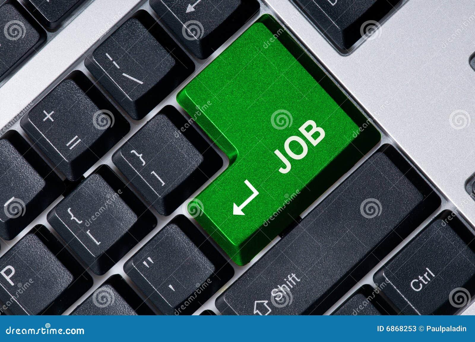 зеленая клавиатура ключа работы
