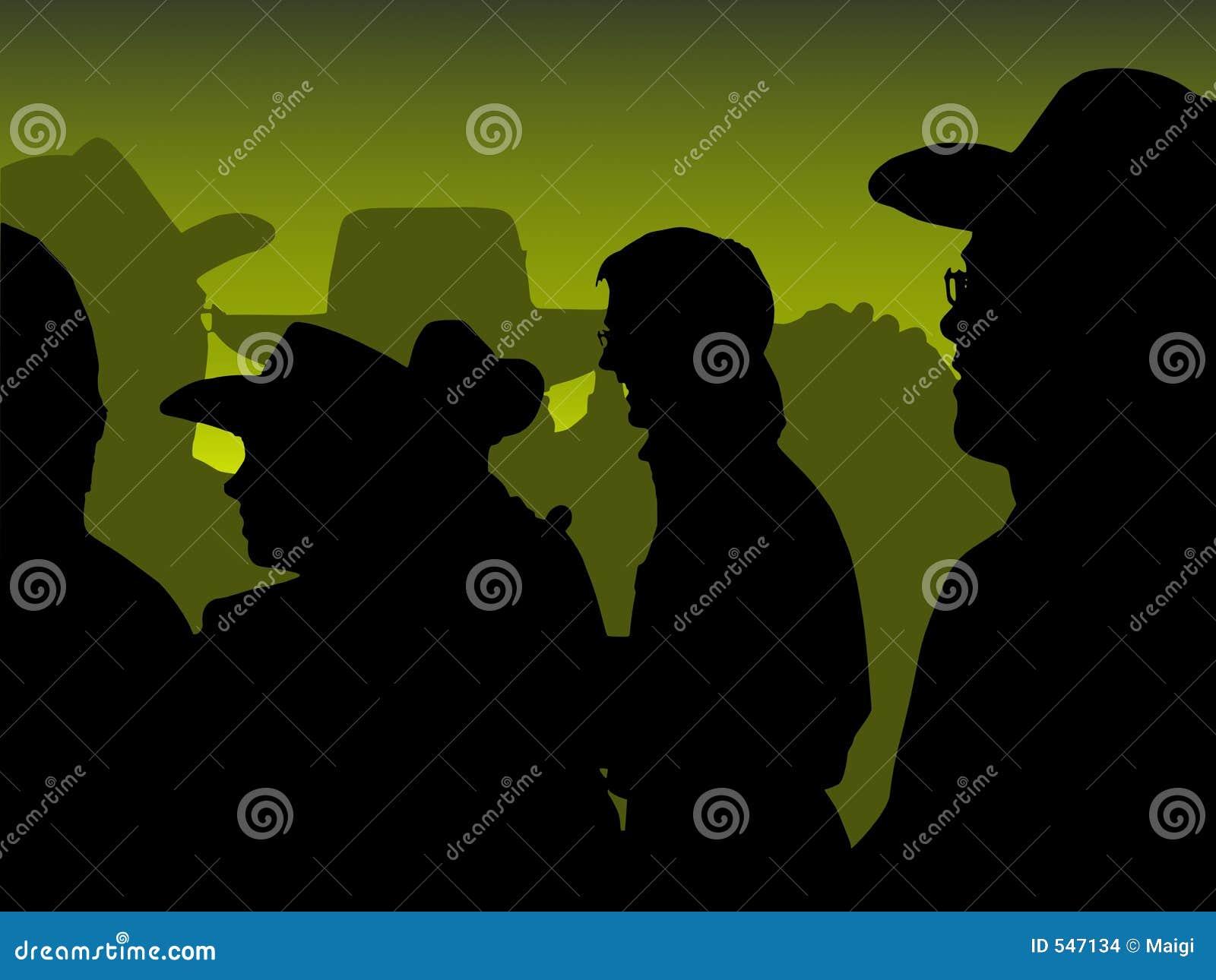 Зеленая партия ковбоя