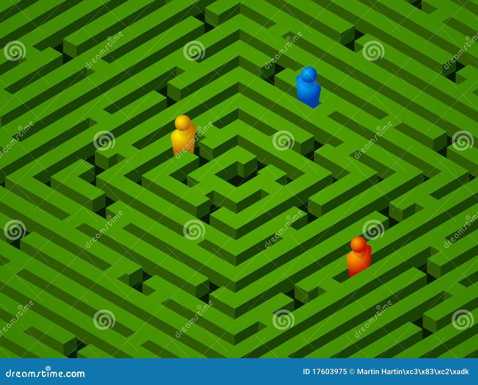 зеленые люди лабиринта