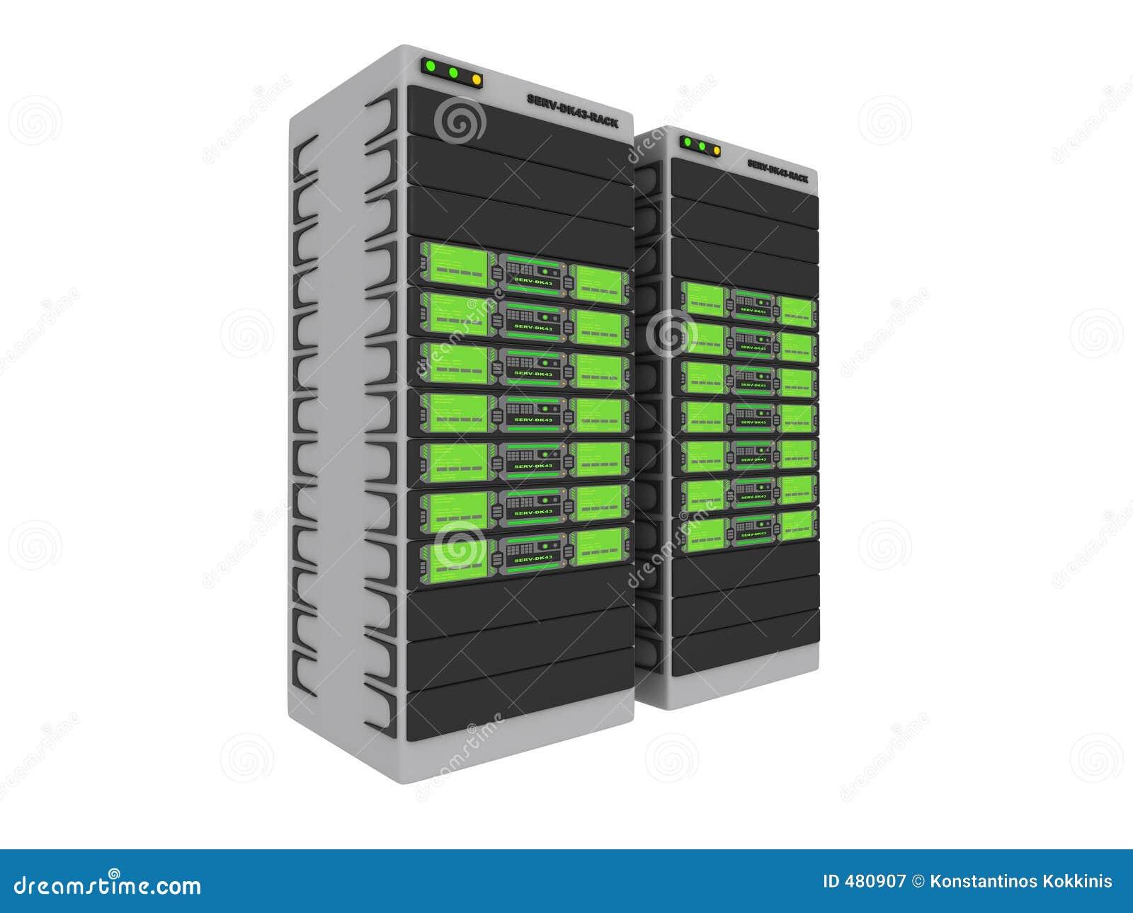 зеленые серверы 1 3d