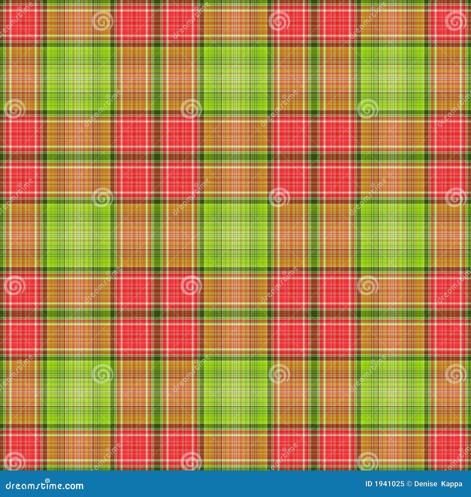 зеленый красный цвет шотландки
