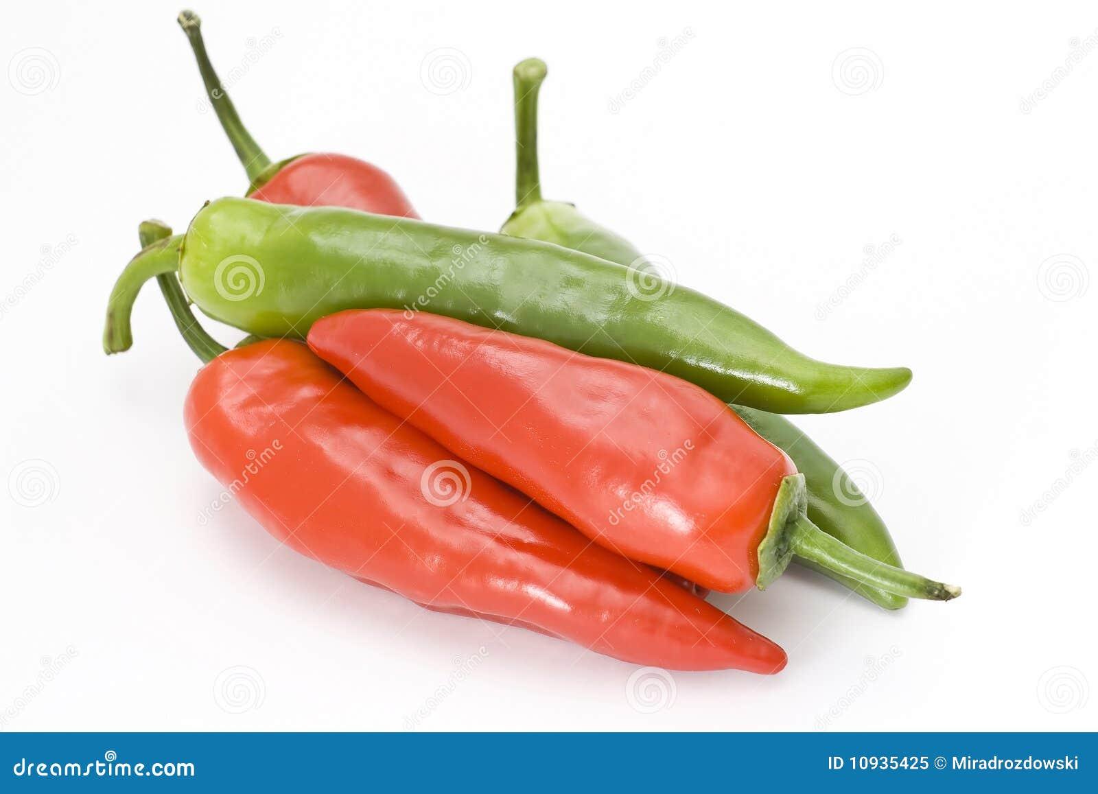 зеленый красный цвет peperoni