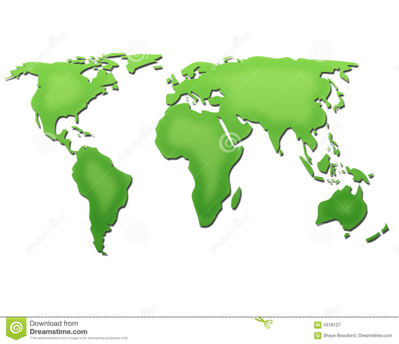 зеленый мир карты