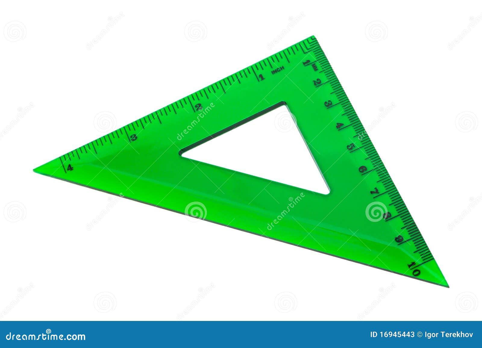 треугольник зелёный картинка