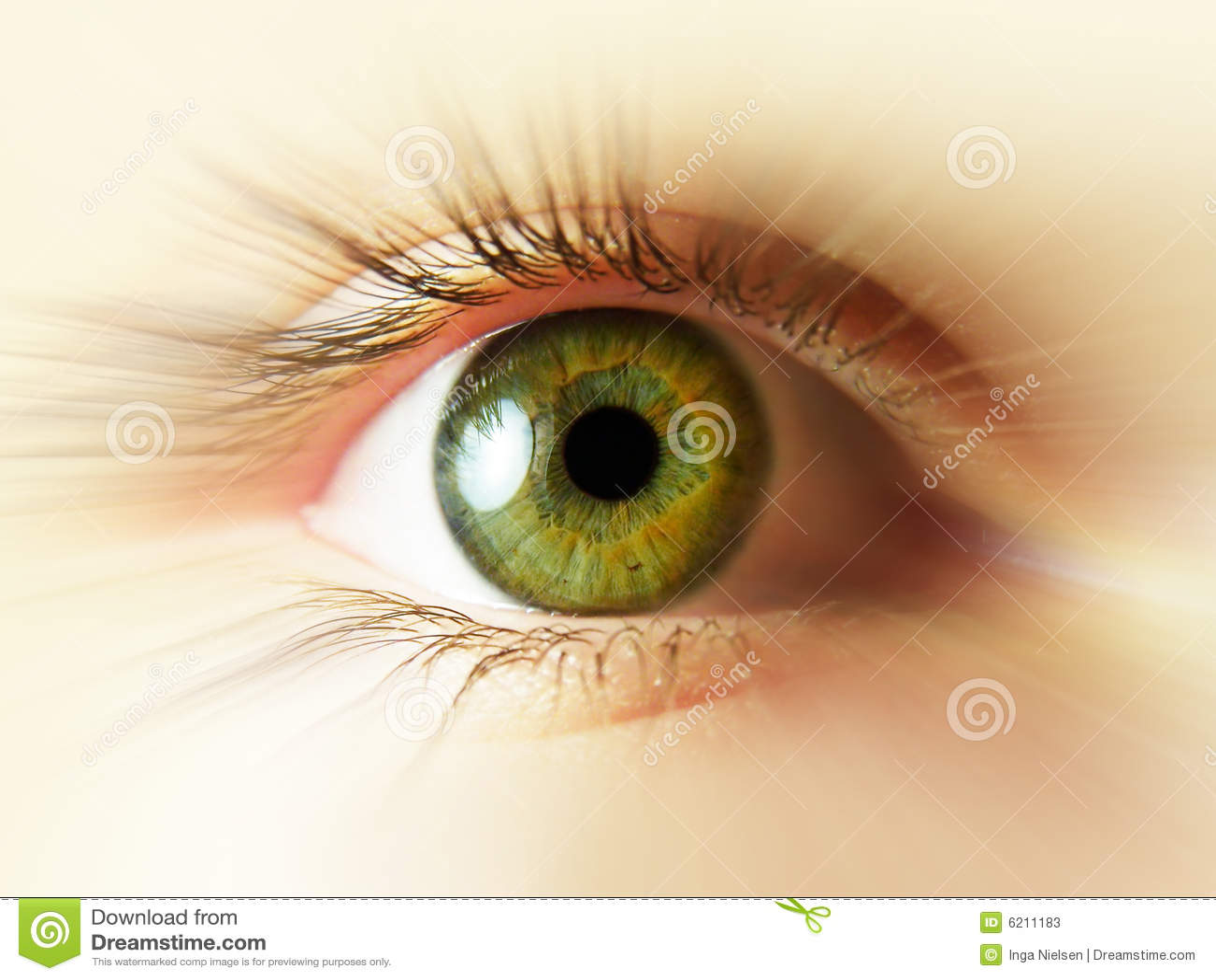 зеленый цвет глаза