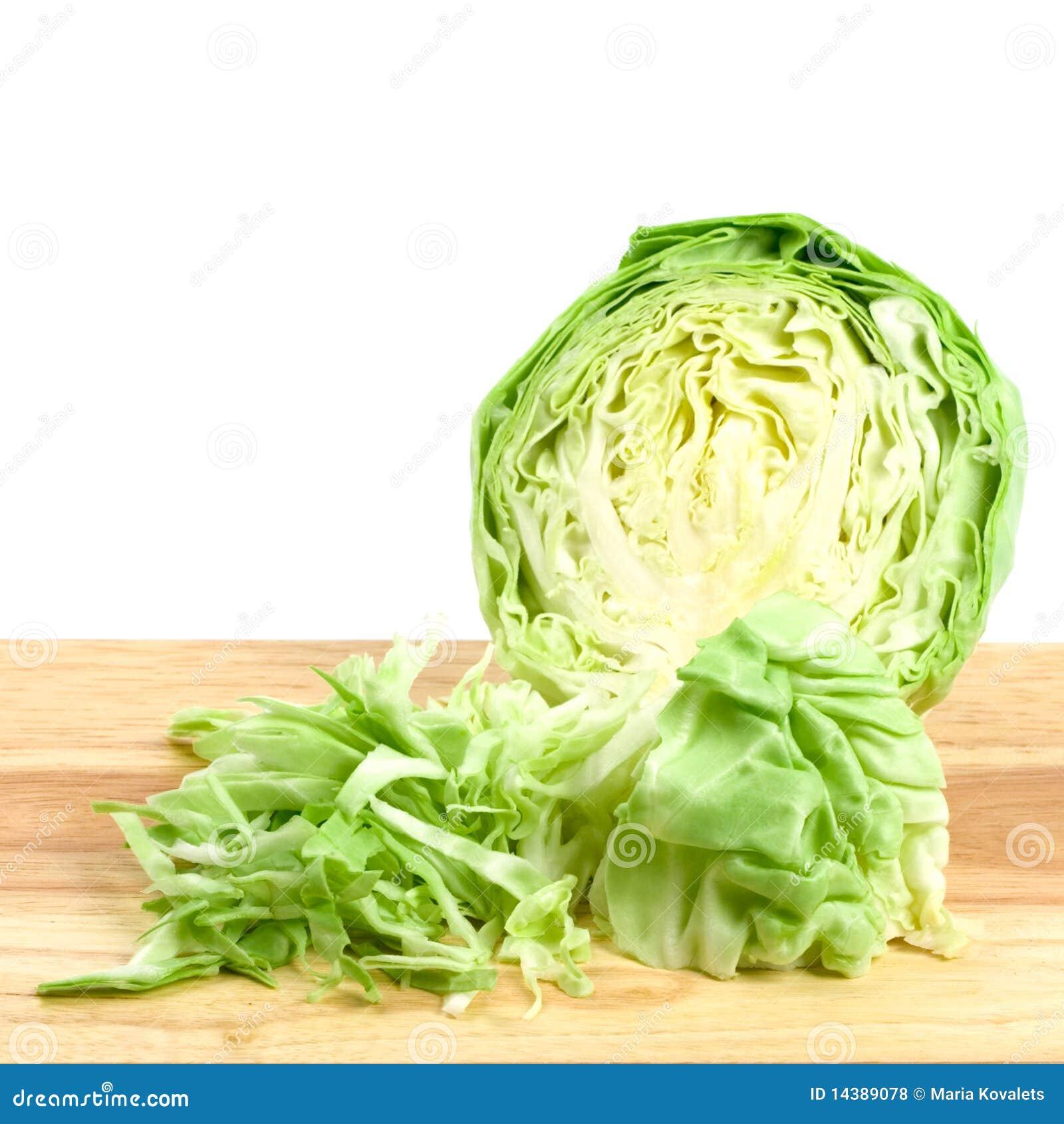 зеленый цвет капусты