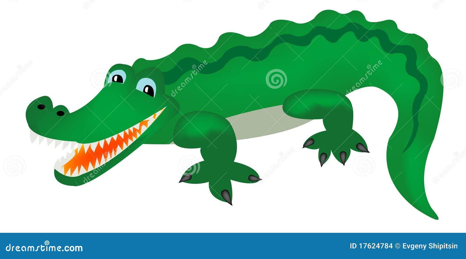 зеленый цвет крокодила