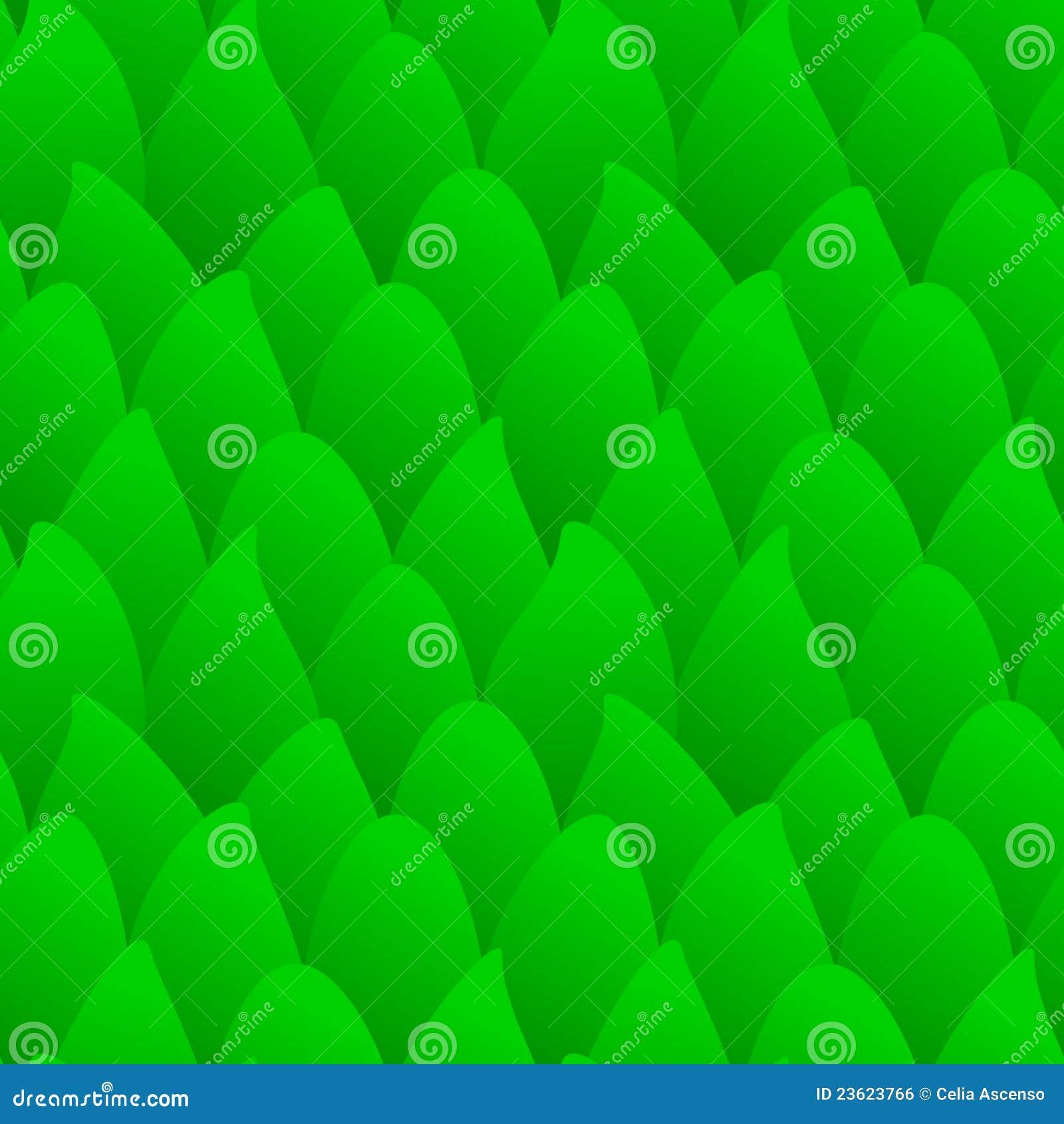 зеленый цвет пущи безшовный