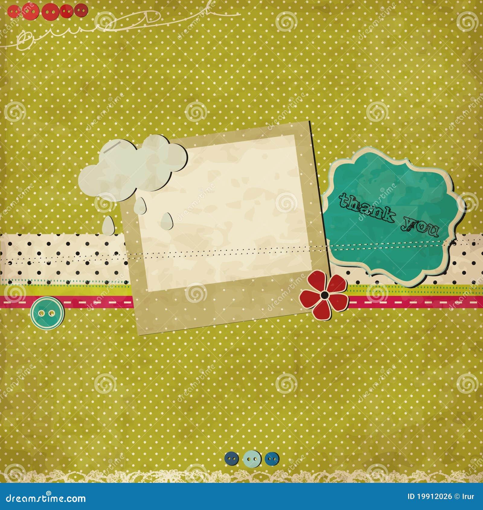 зеленый шаблон утиля