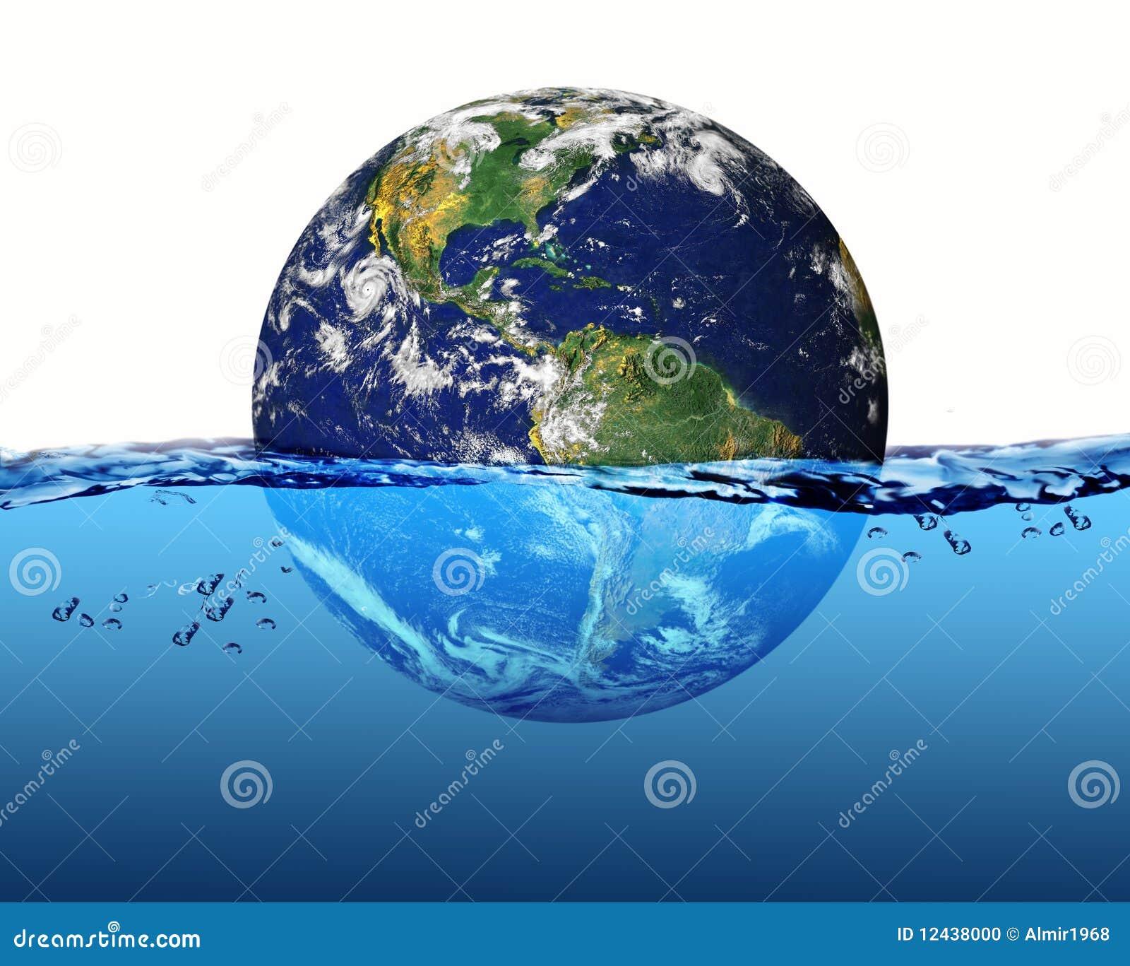 какой процент земли занимает мировой океан