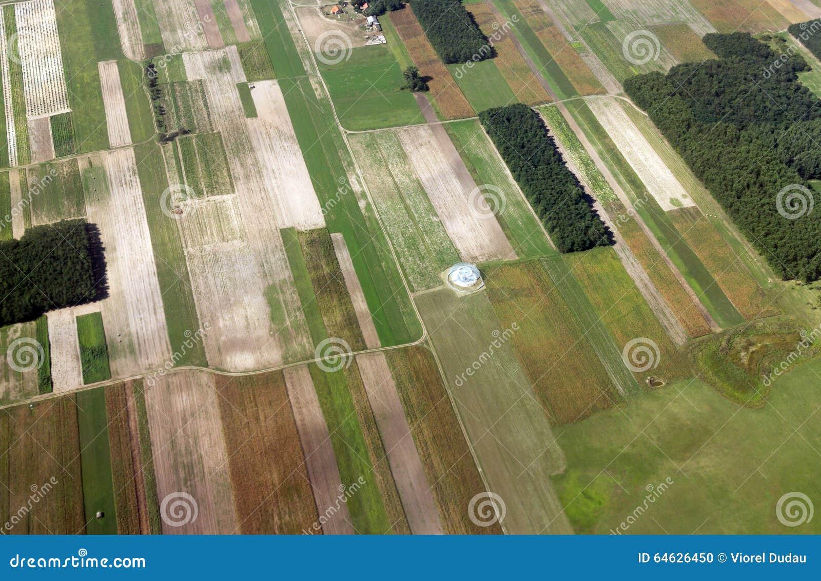 земледелие раньше fields зима ландшафта galilee Израиля северная