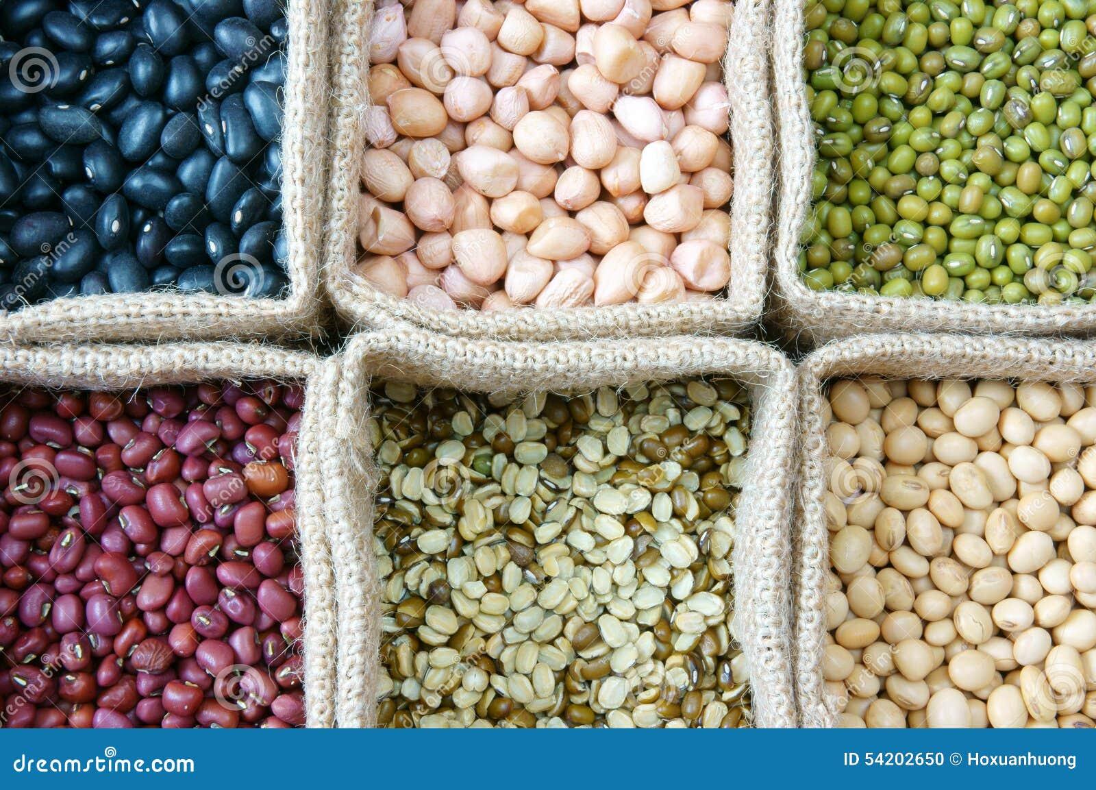 Зерно, хлопья, здоровая еда, еда питания