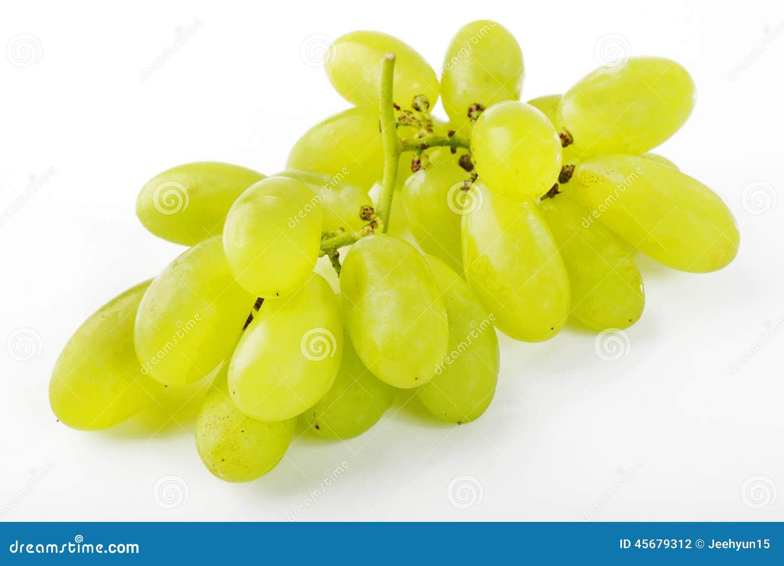 Зеленая виноградина