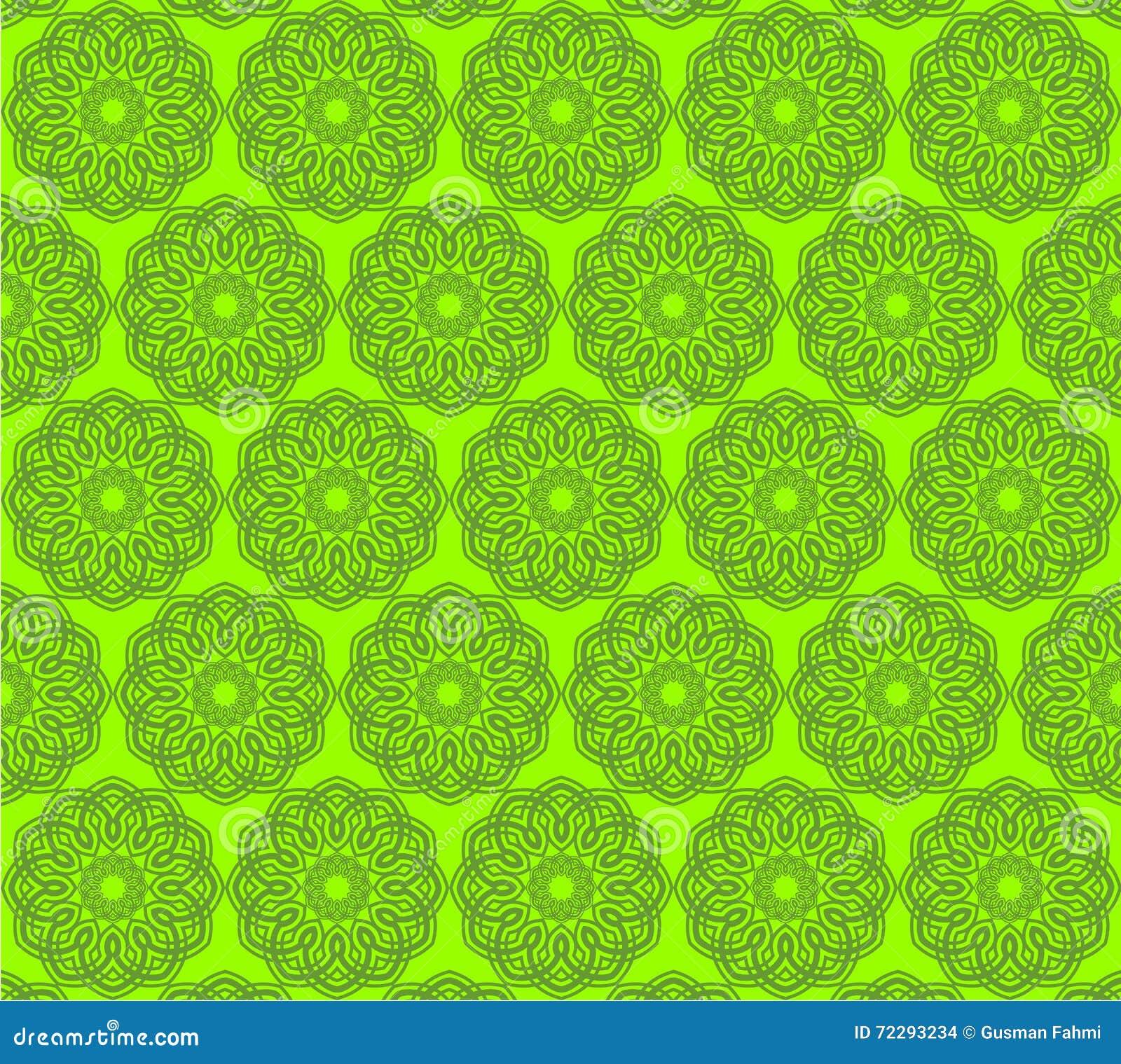 Download зеленая исламская картина иллюстрация вектора. иллюстрации насчитывающей вектор - 72293234
