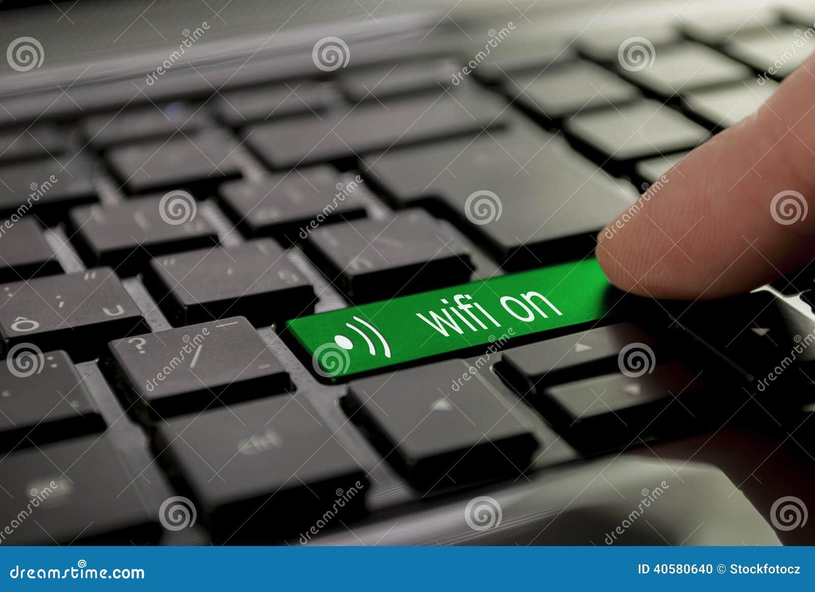 Зеленое wifi кнопки дальше