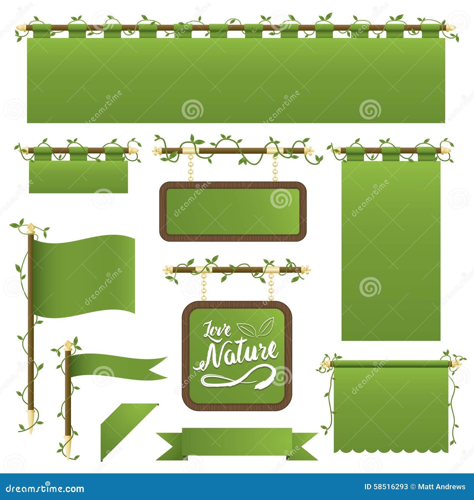 Зеленые знамена