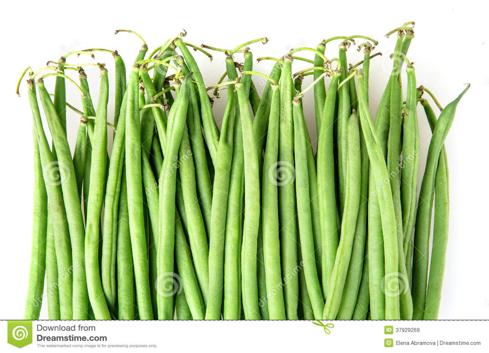 Зеленые фасоли