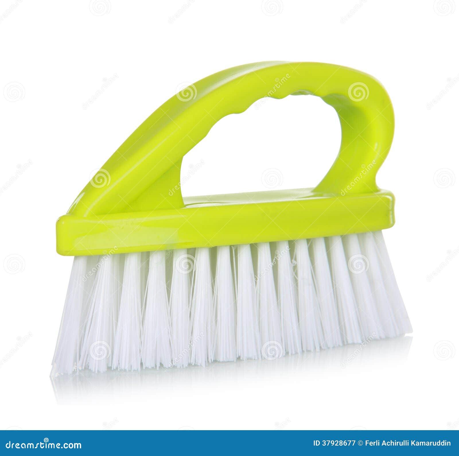 зеленый цвет чистки щетки