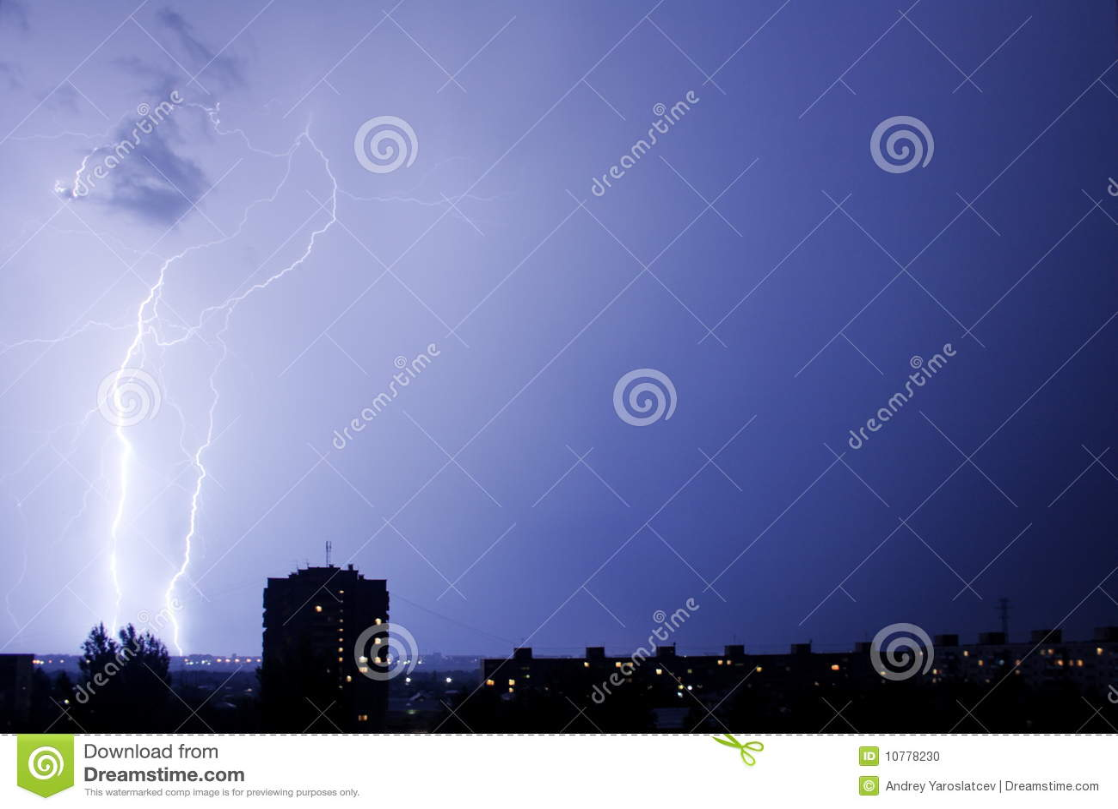 зигзагообразная молния