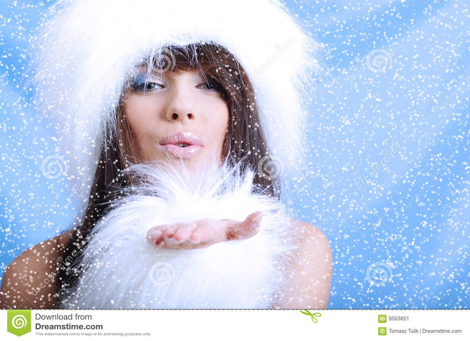 Фото макияж снегурочки