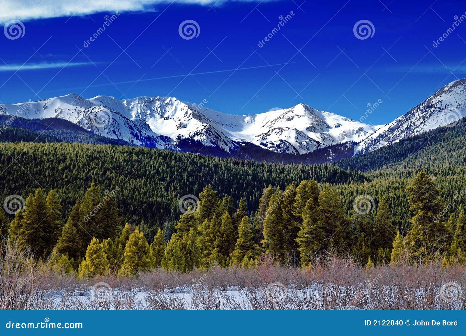 зима ландшафта colorado
