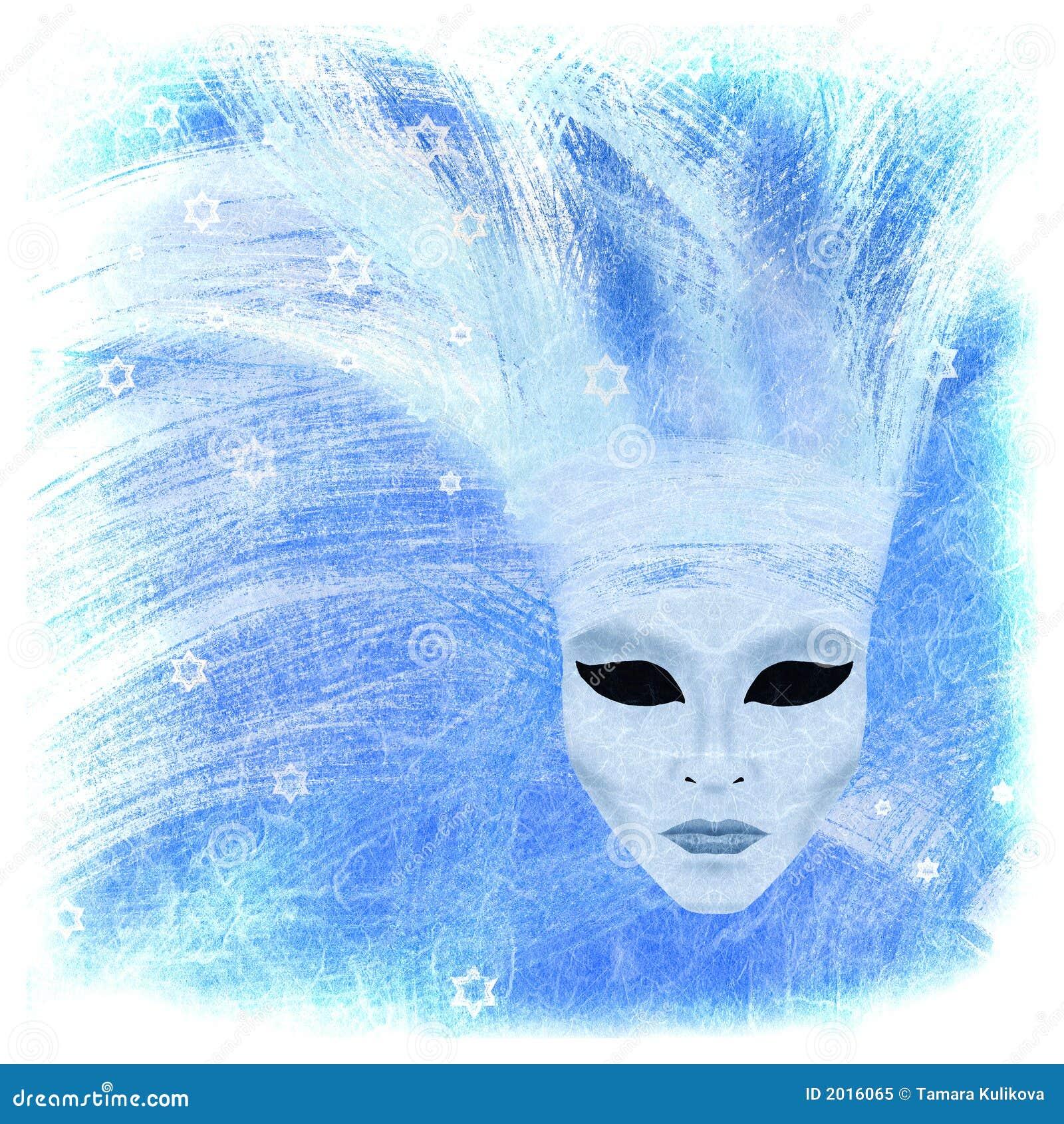 зима маски venetian