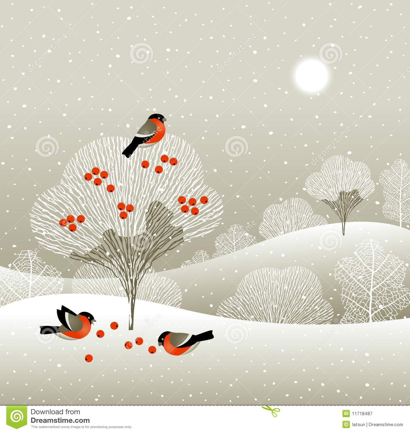 зима пущи