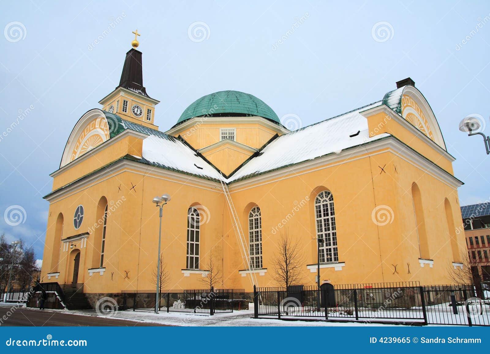 зима церков