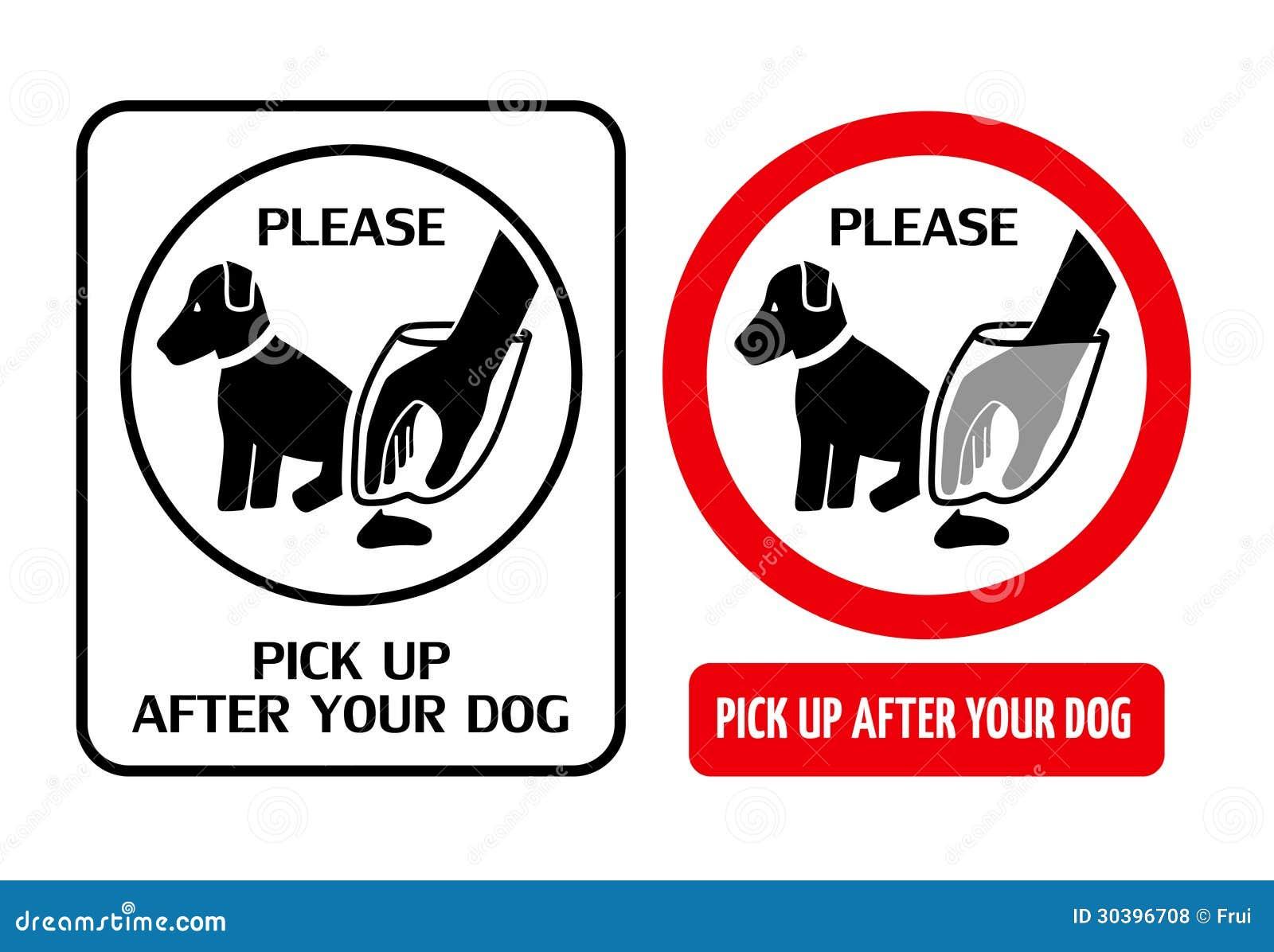 Знаки гигиены собаки