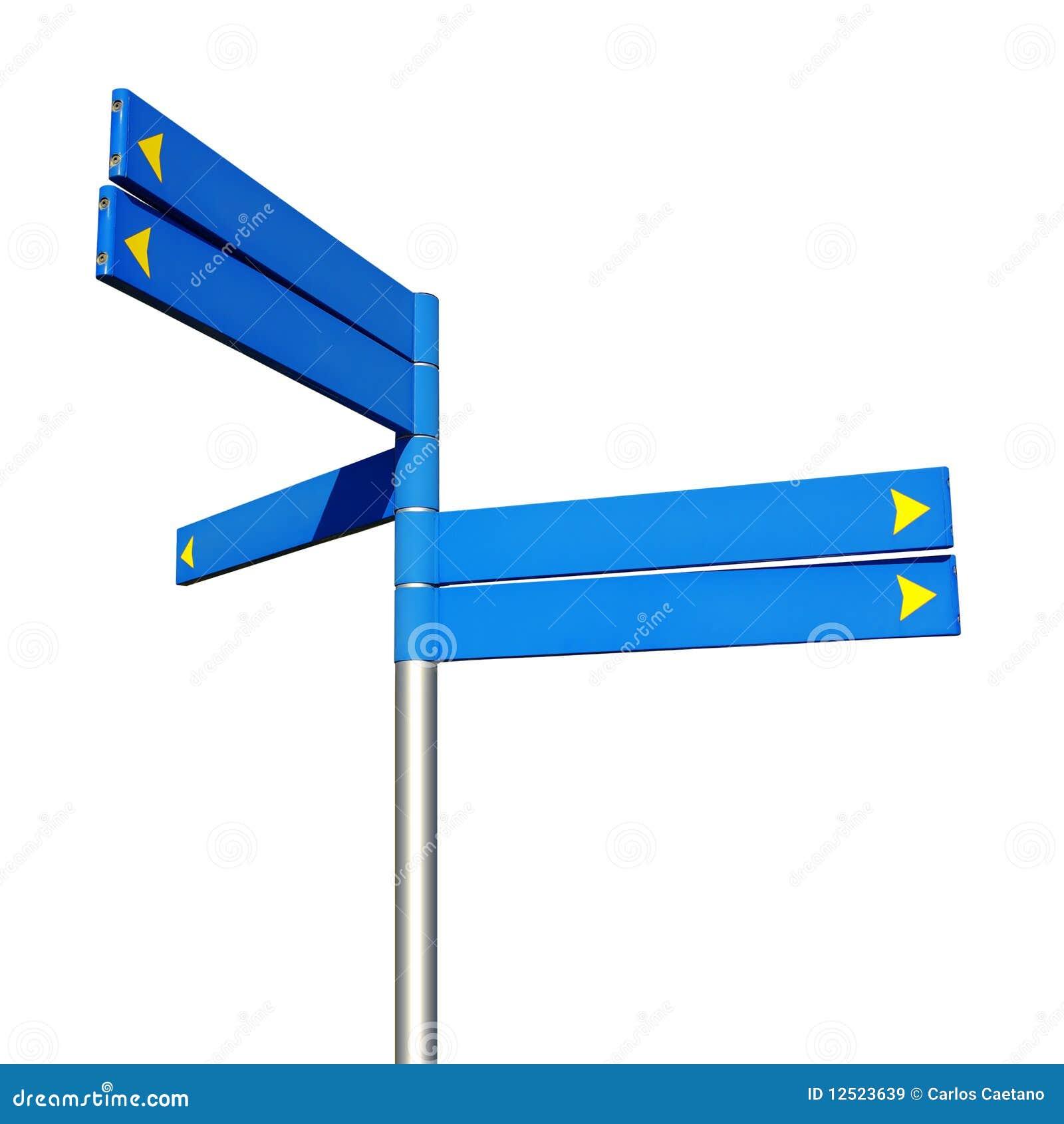 знаки направления