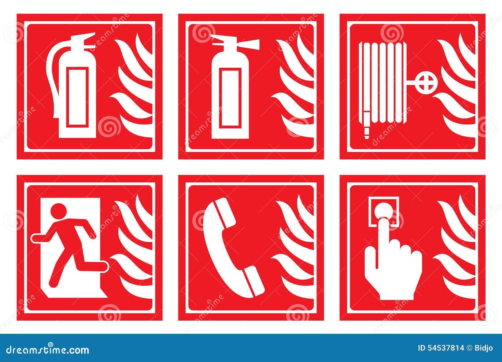 Знаки для пожарной безопасности