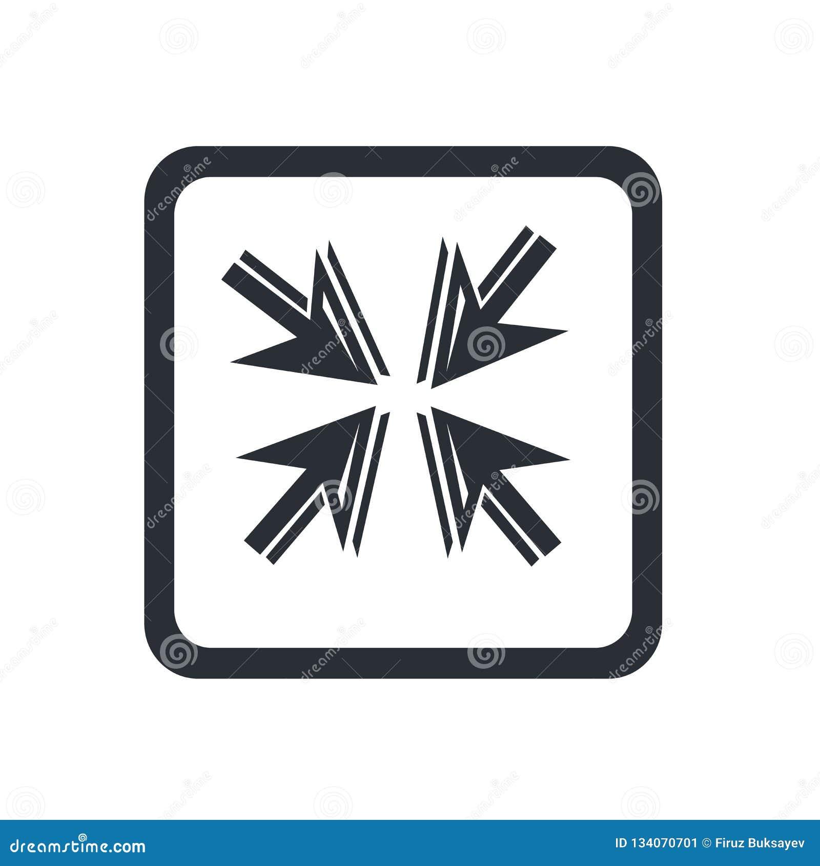 Знак и символ вектора значка стрелок движения изолированные на белой предпосылке, концепции логотипа стрелок движения
