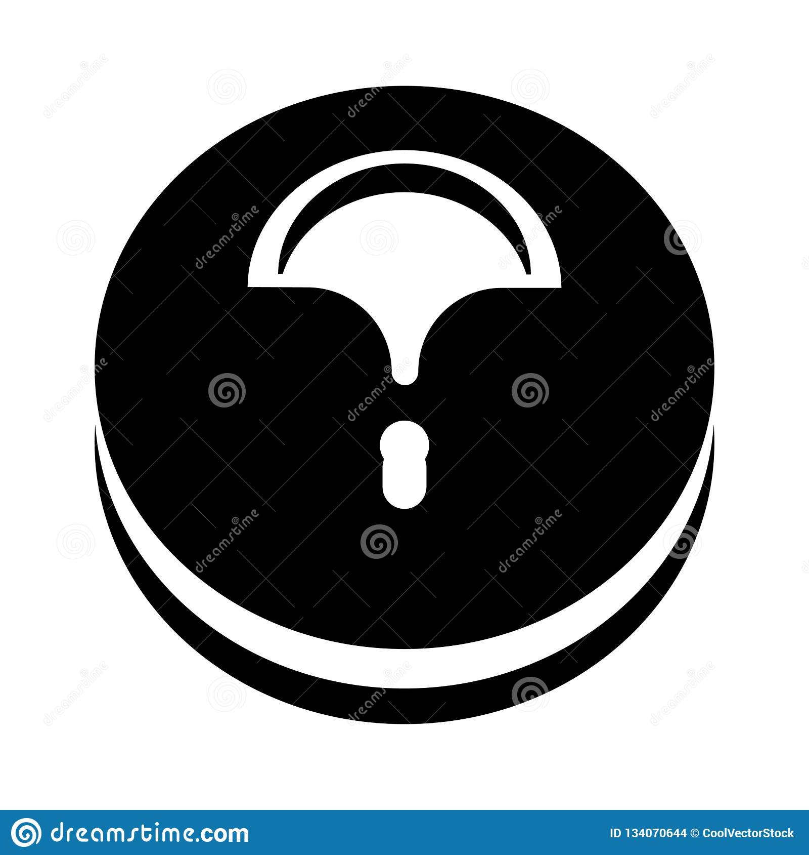Знак и символ вектора значка сумки Hobo изолированные на белой предпосылке, концепции логотипа сумки Hobo
