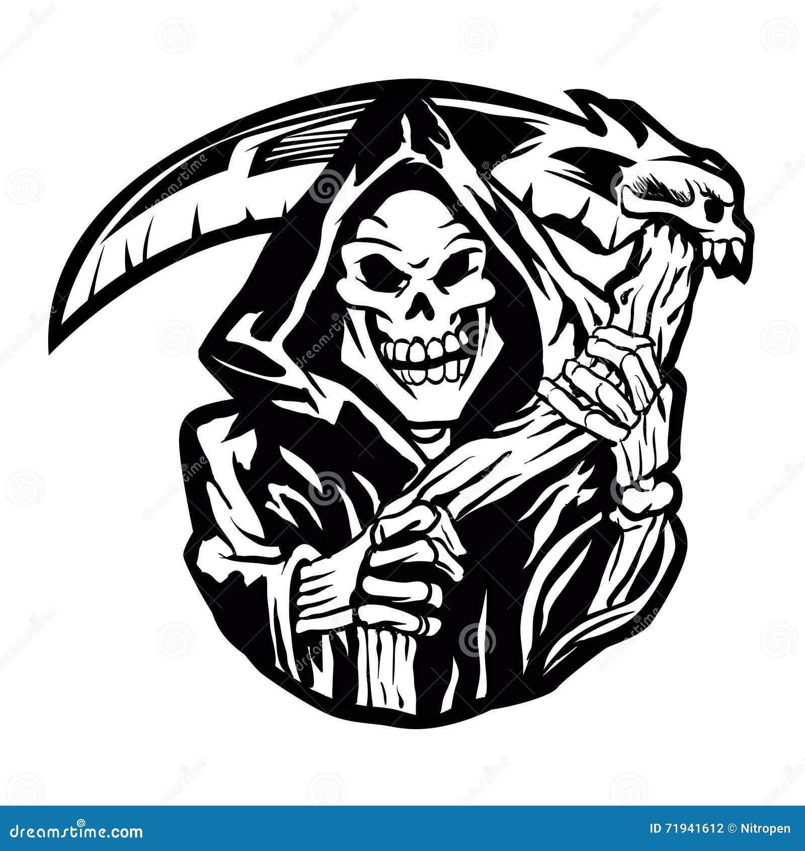 Знак мрачного жнеца татуировка мрачного жнеца