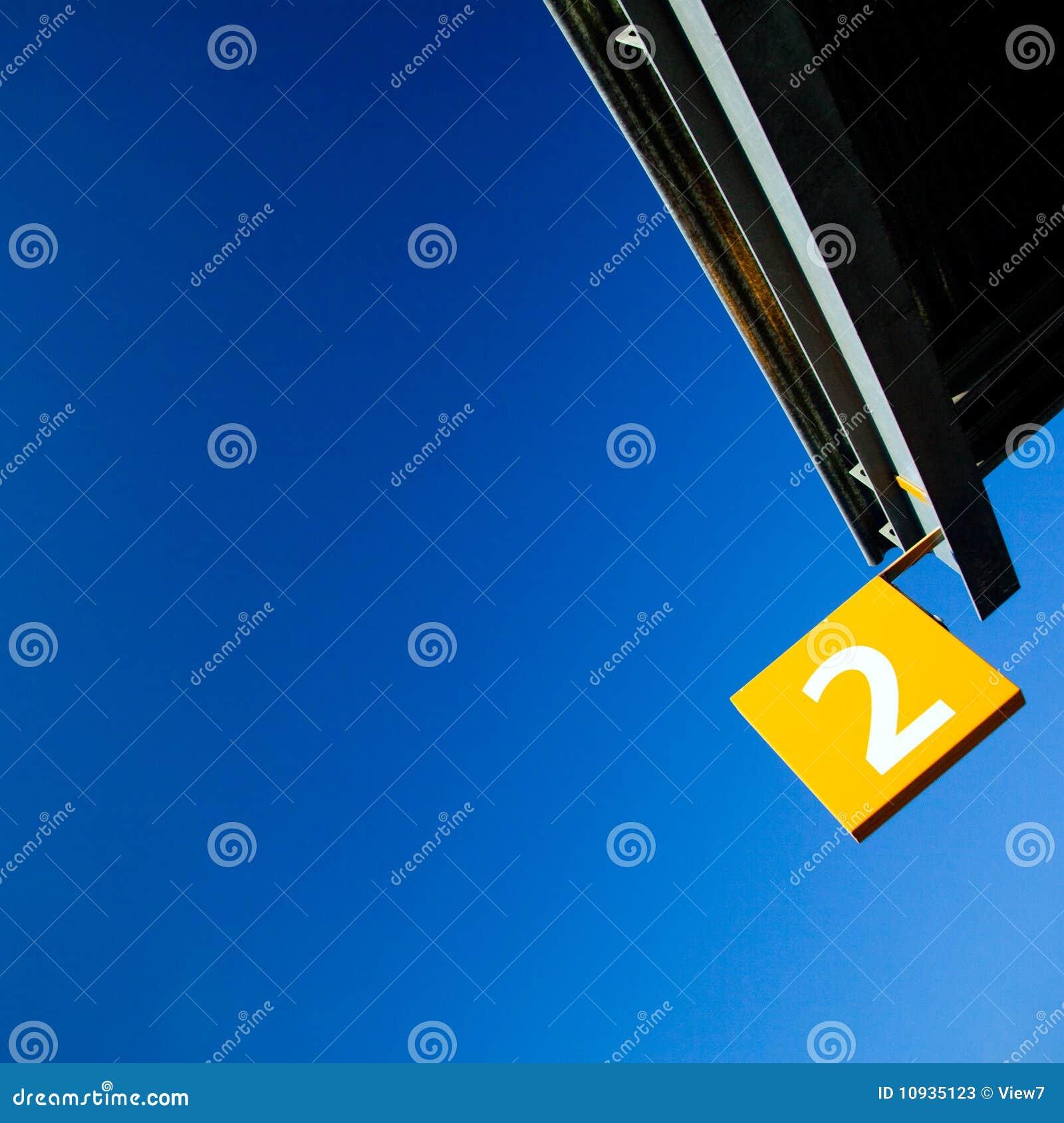 знак номера 2 флага