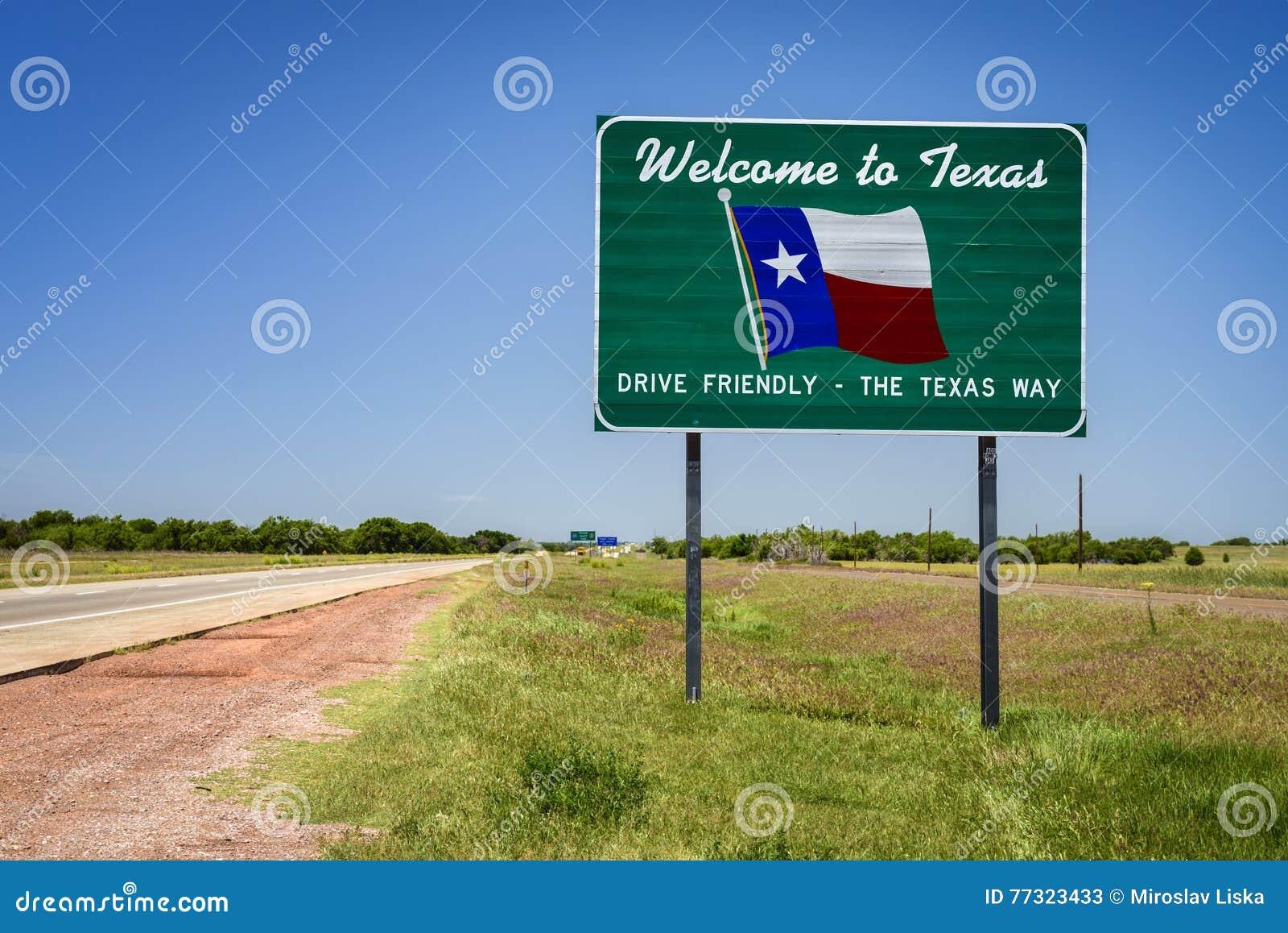 Знак положения Техаса