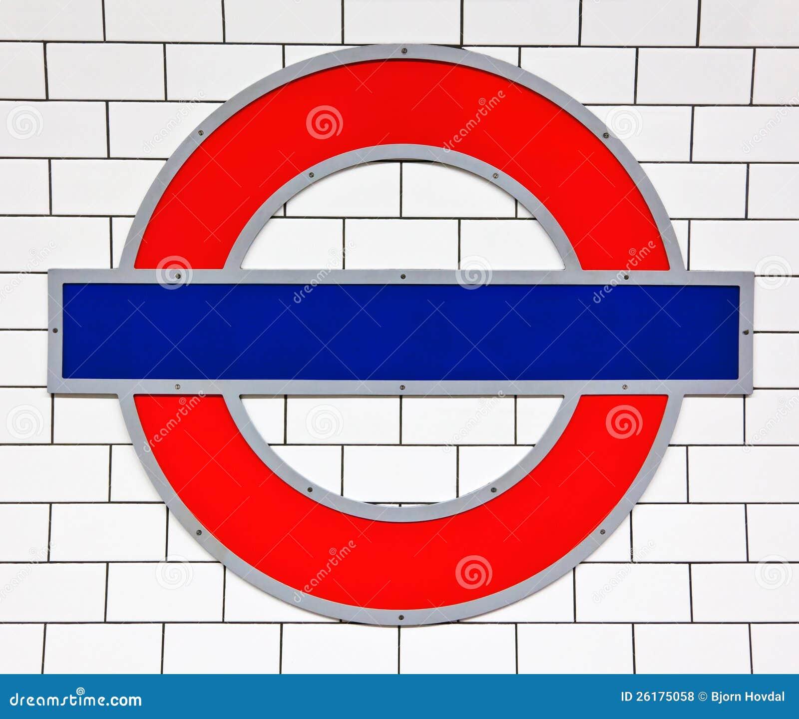 Знак пробки Лондон