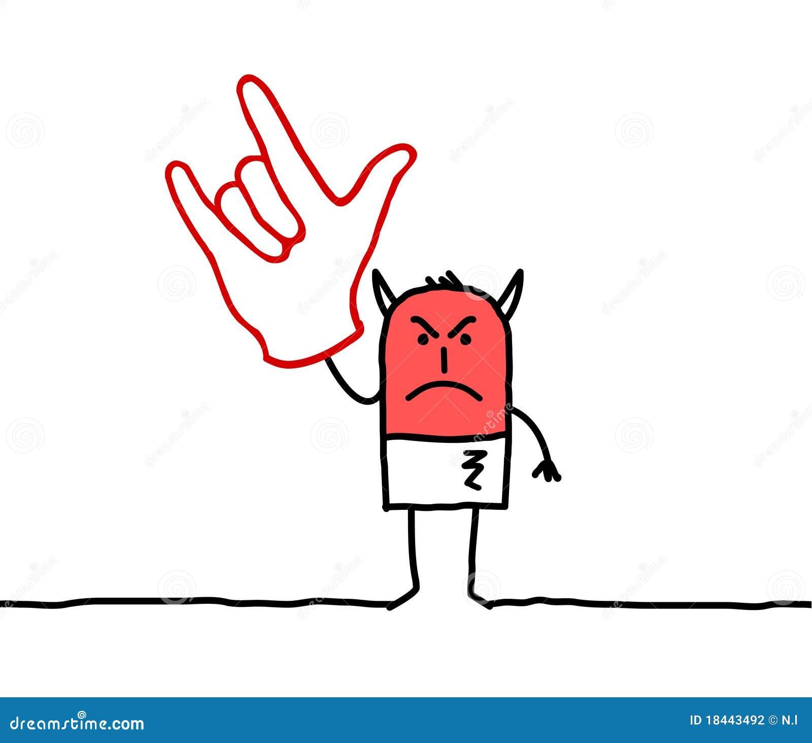 знак руки дьявола