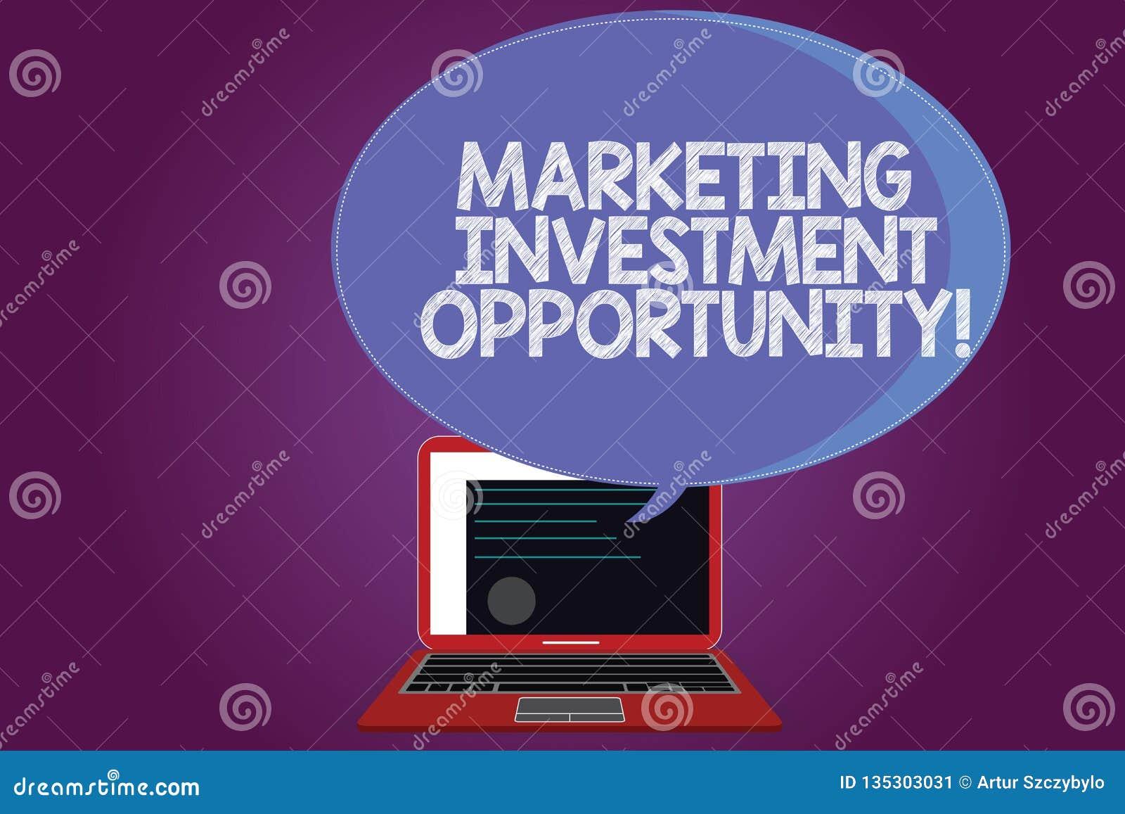 Знак текста показывая выходя на рынок инвестиционную возможность Схематическое фото предпринимая план сертификата нового продукта