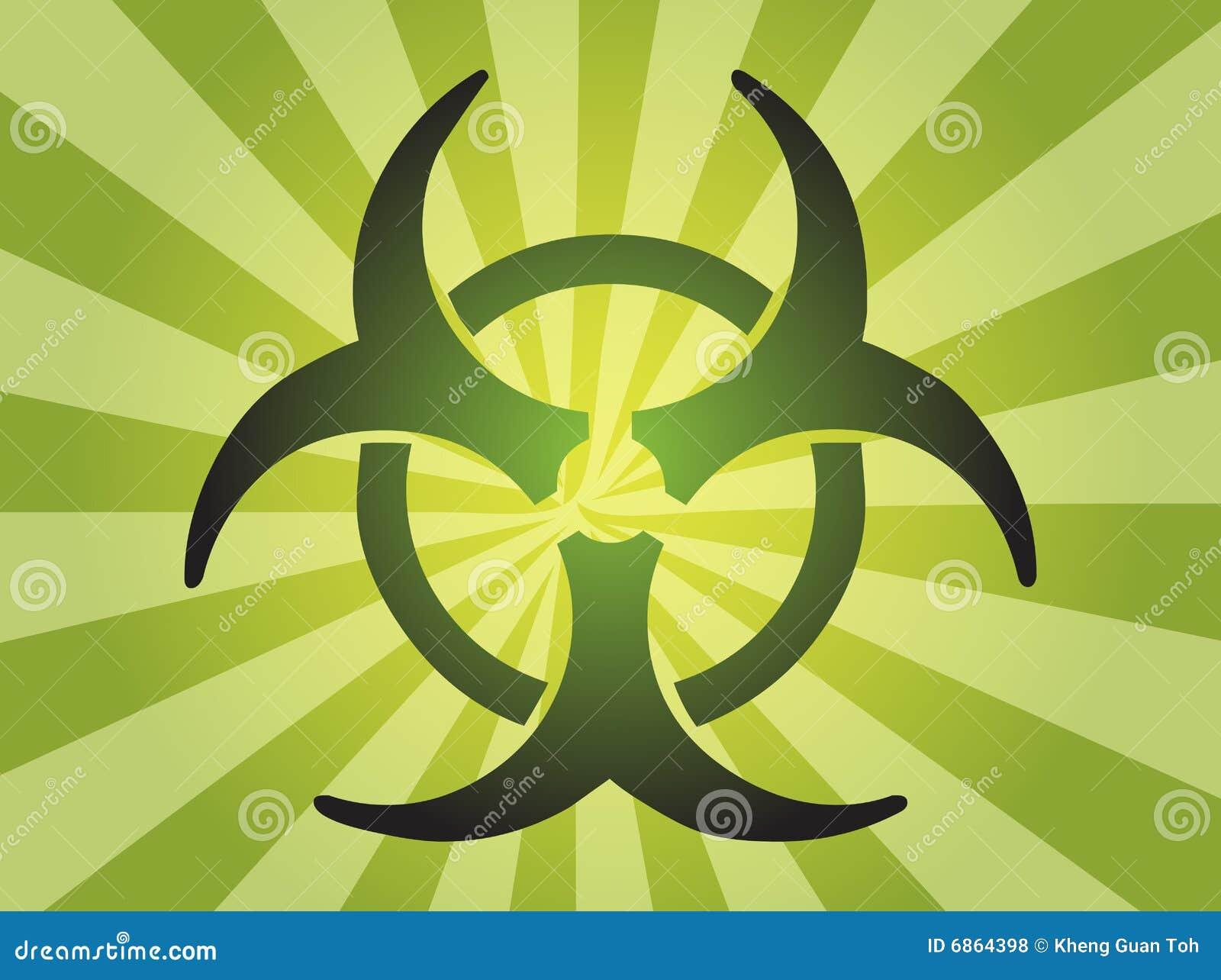 знак biohazard