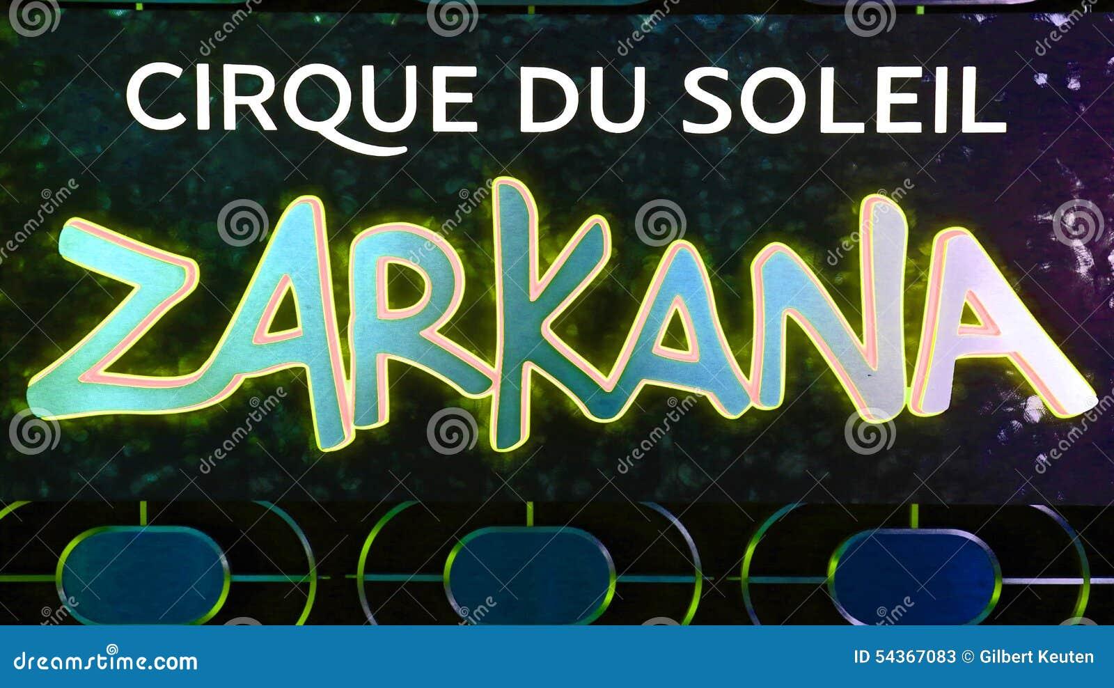 Знак Cirque Du Soleil