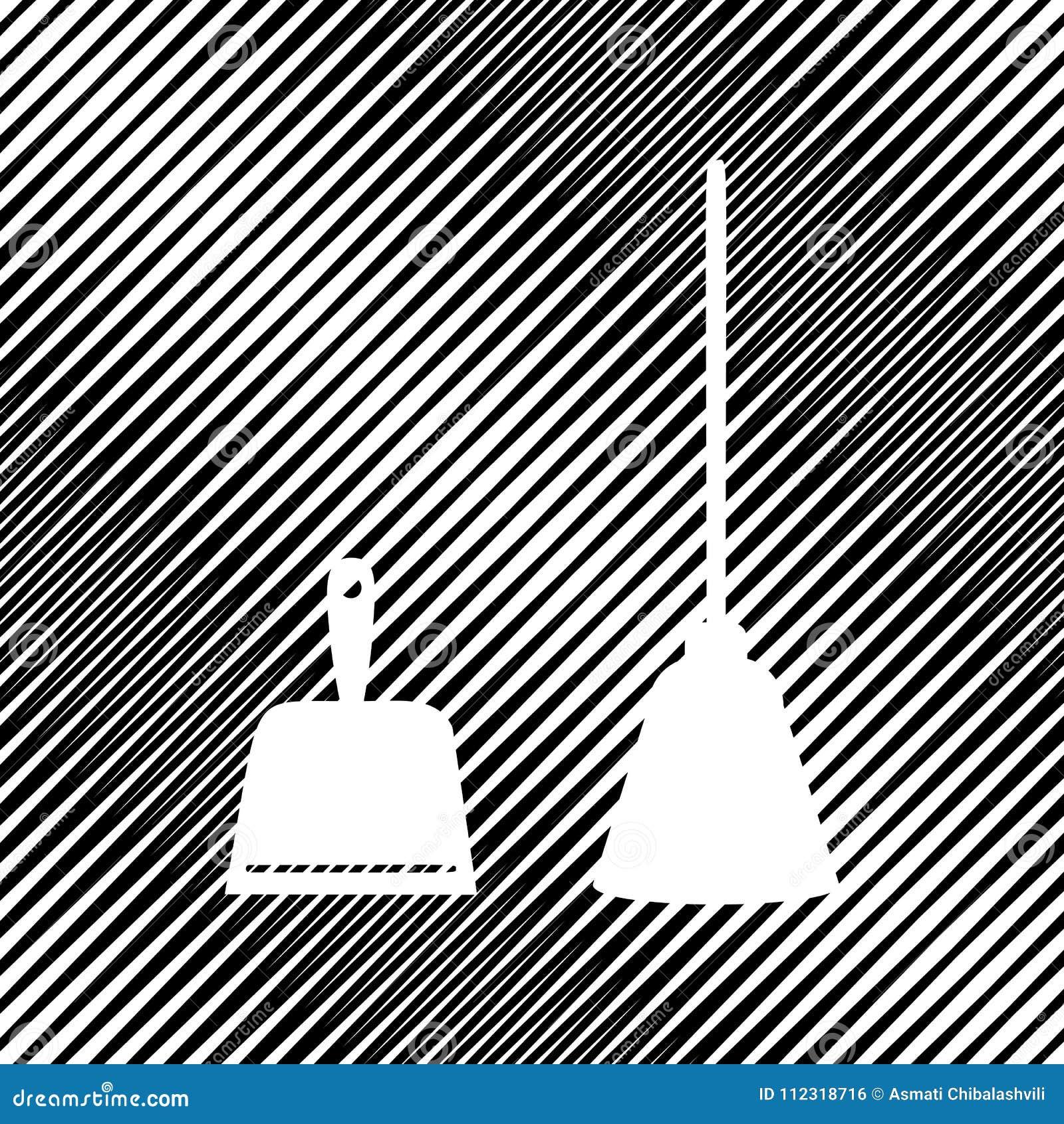 Знак Dustpan Ветроуловитель для очищая dustpan домашнего хозяйства отброса оборудует