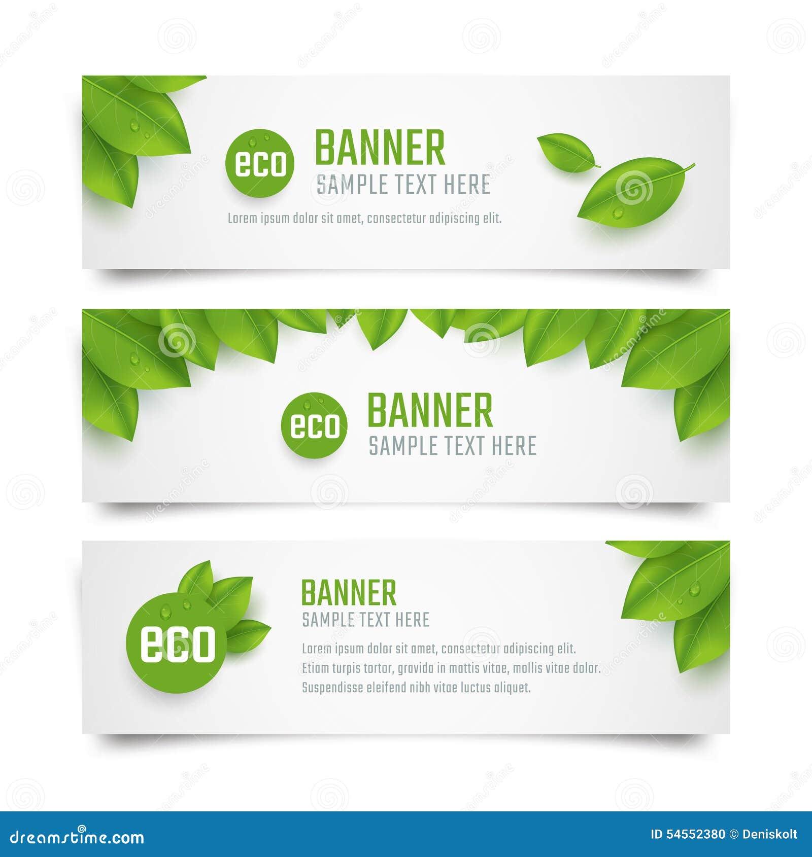 Знамена Eco