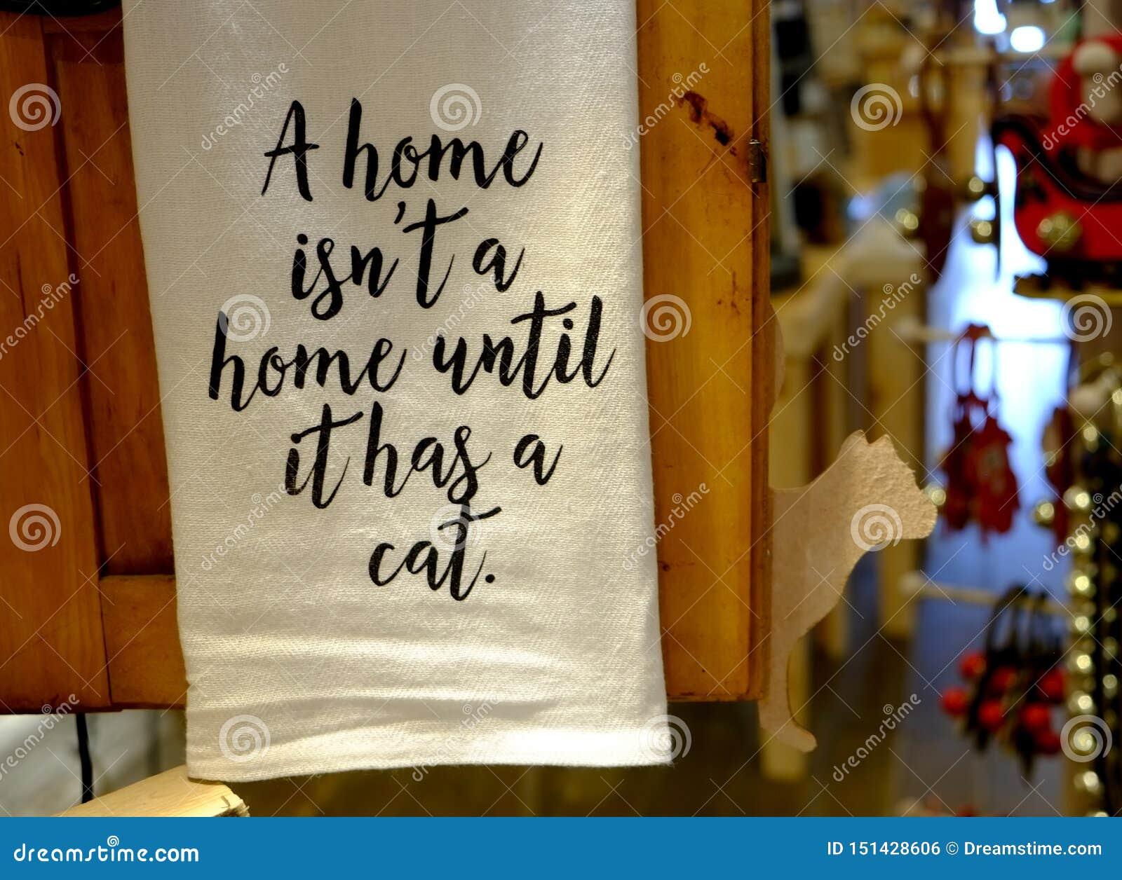 Знамя для любовника кота