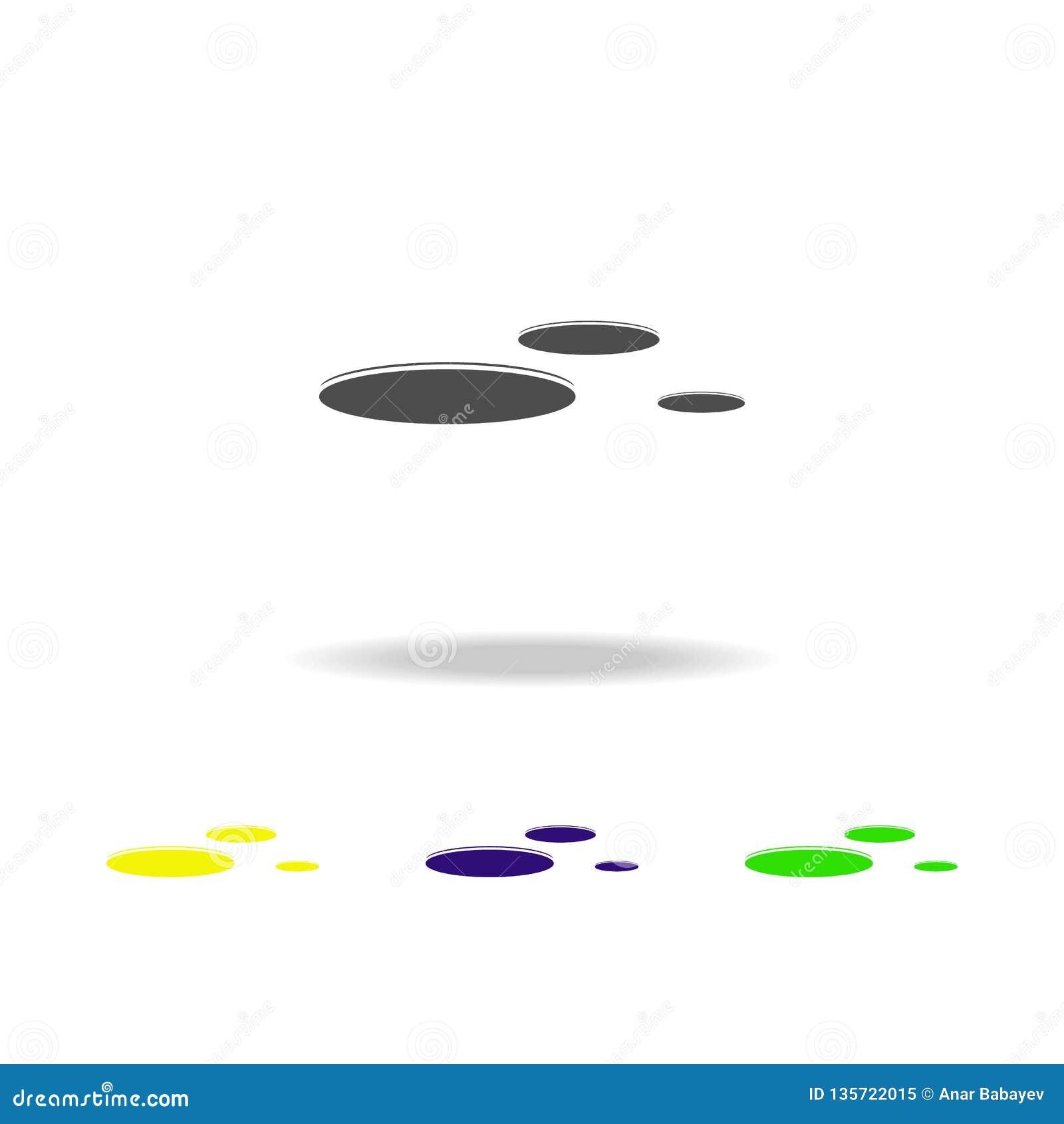значки летающих тарелок пестротканые Элемент значка UFO можно использовать для сети, логотипа, мобильного приложения, UI, UX