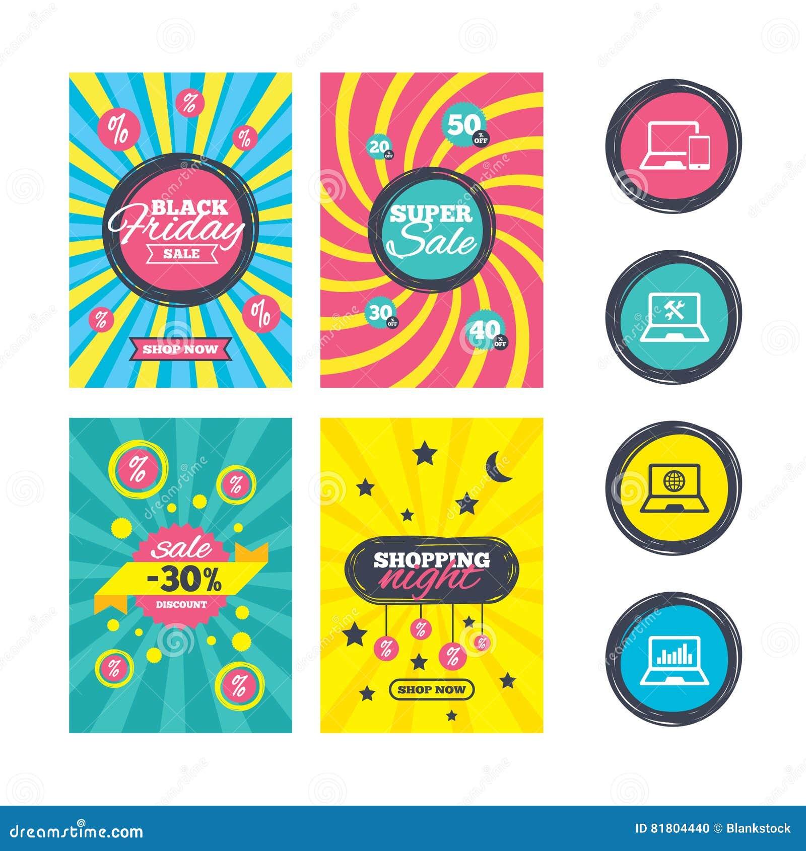 Значки ПК компьтер-книжки тетради Отремонтируйте обслуживание починки