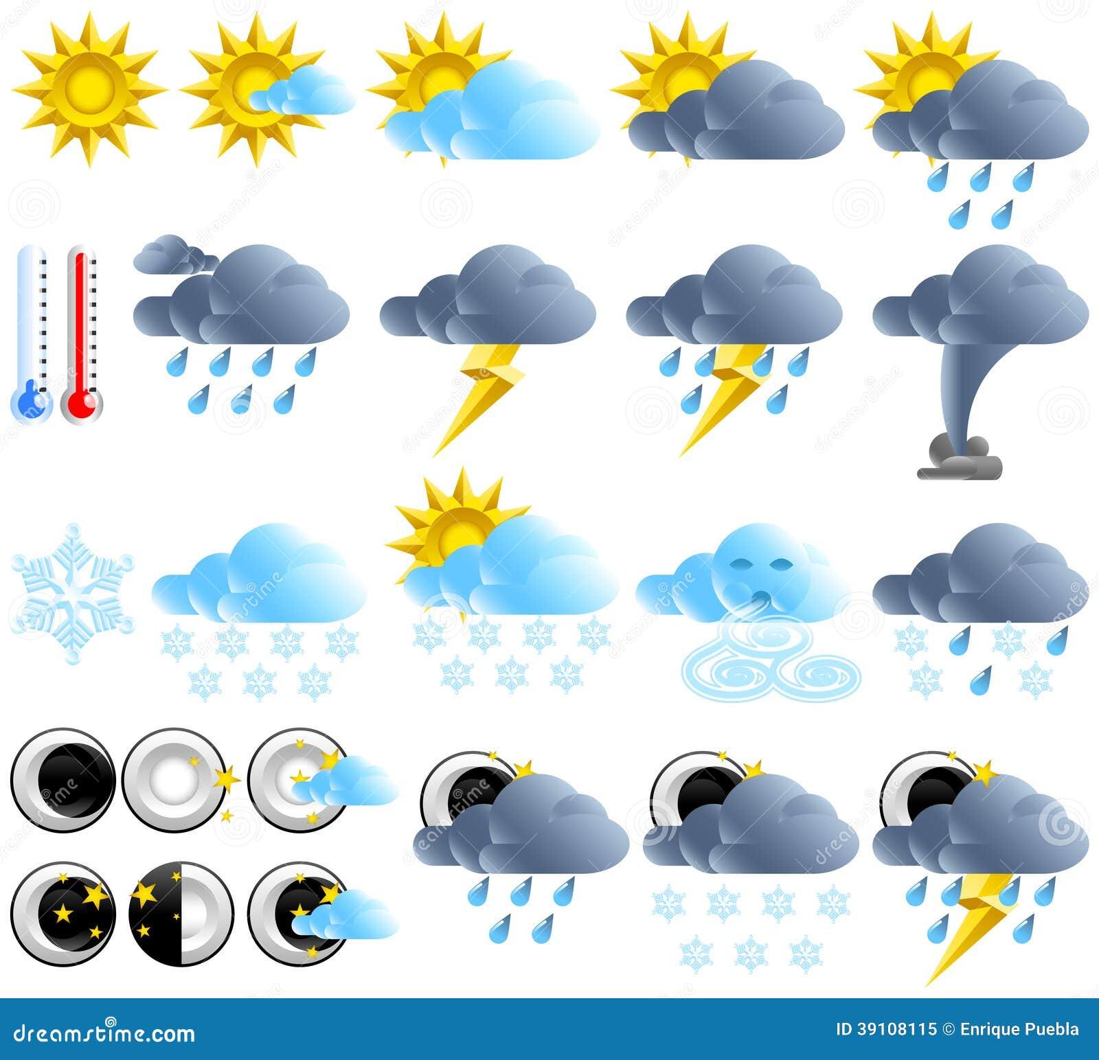 Фото погоды значки