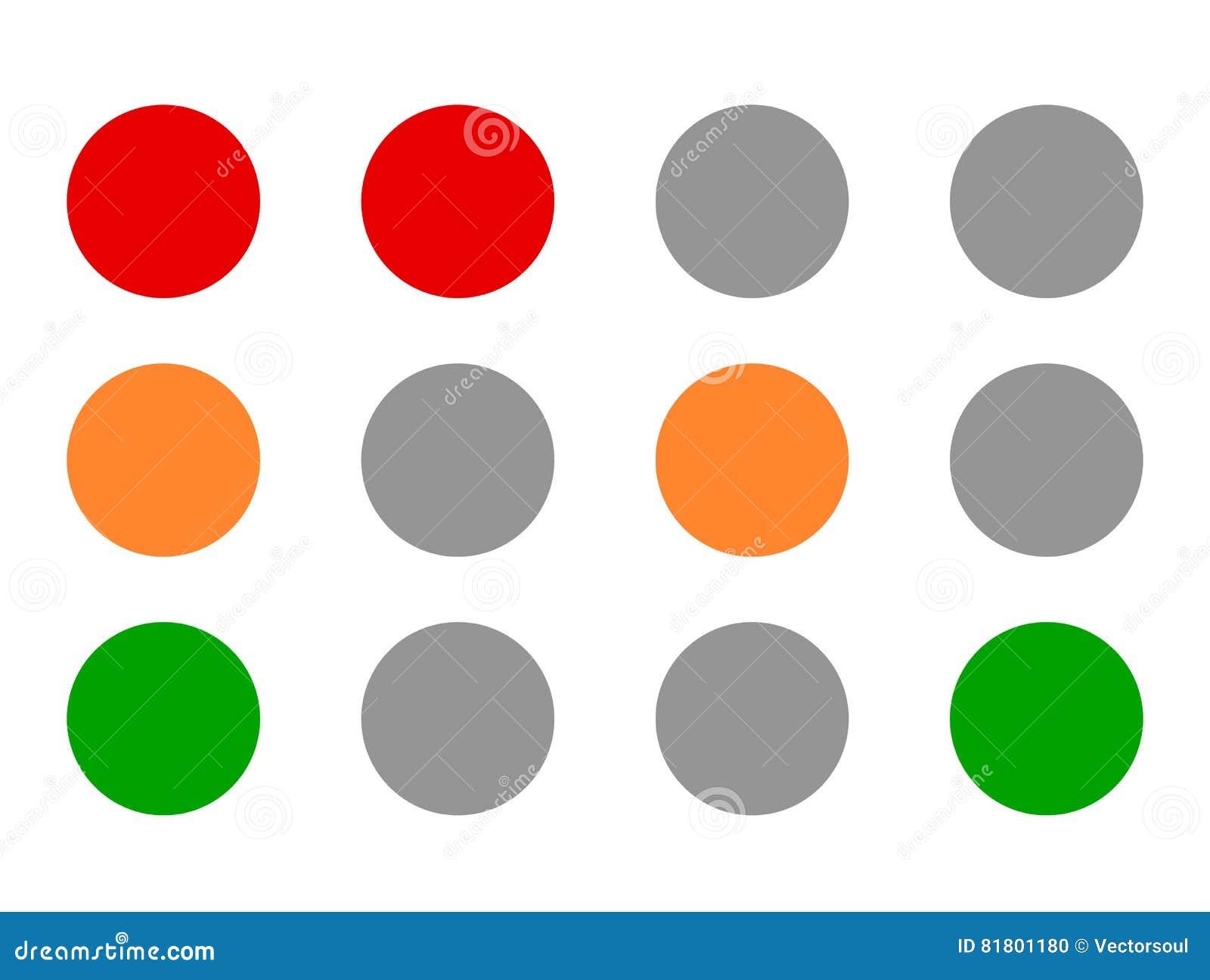 Значки светофора, †«Transportati иллюстраций лампы движения