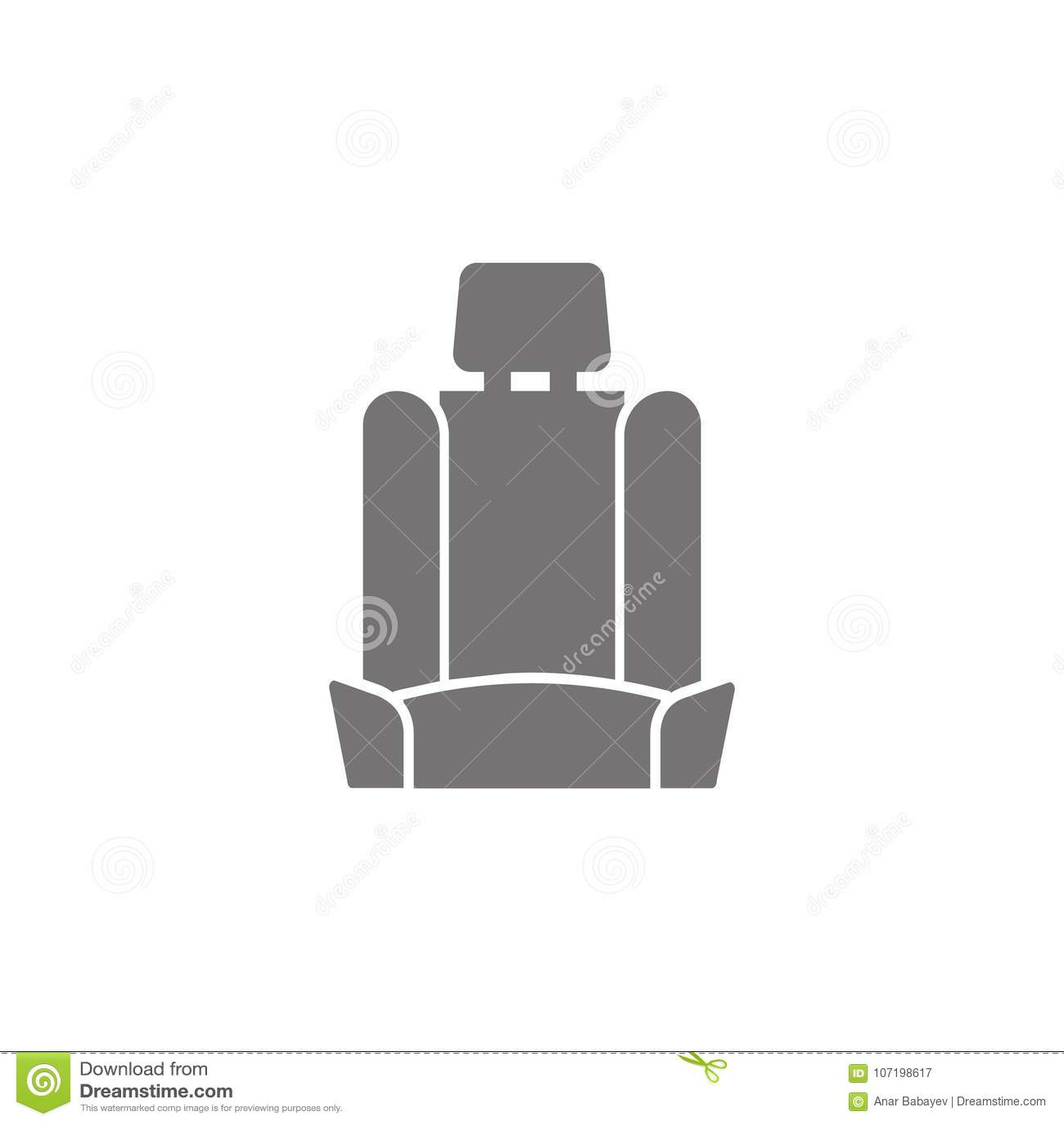 Значок автокресла