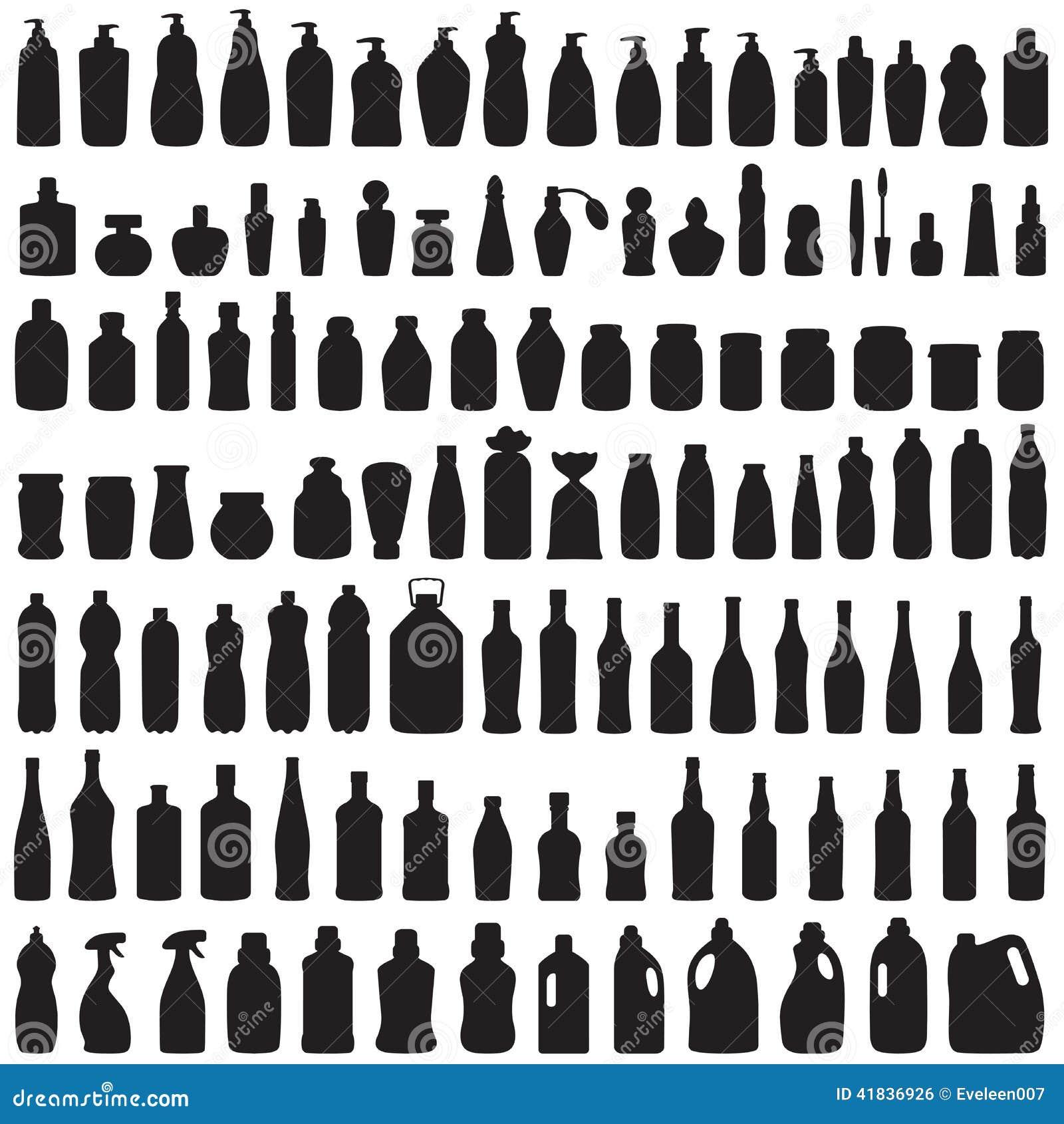 Значок бутылки